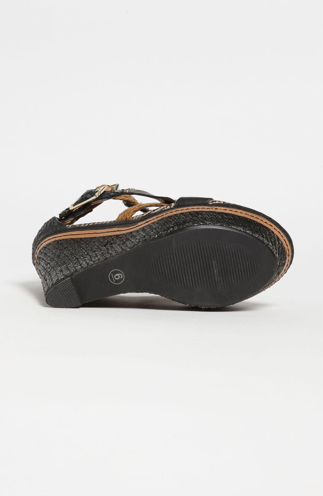 Alternate Image 4  - MIA 'Frida' Wedge Sandal