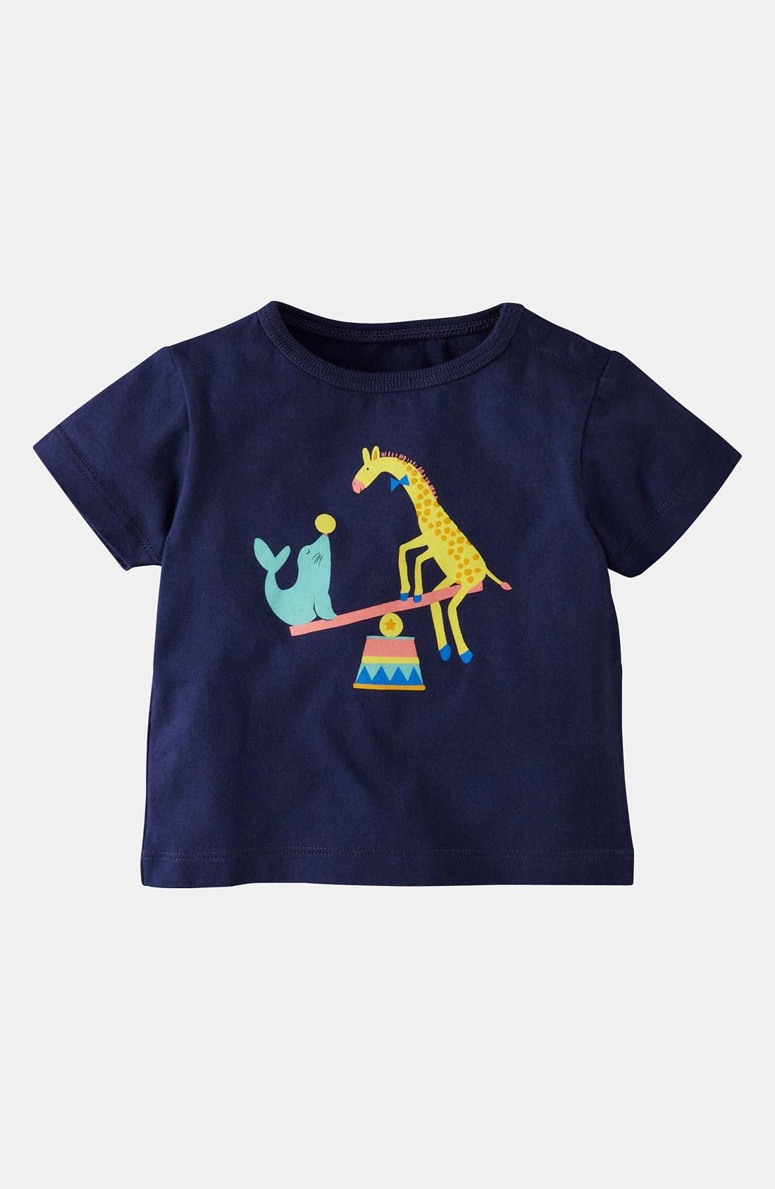 Main Image - Mini Boden 'Circus Animal' T-Shirt (Baby)