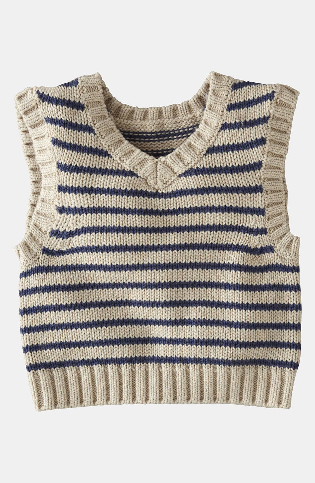 Alternate Image 1 Selected - Mini Boden Knit Vest (Baby)