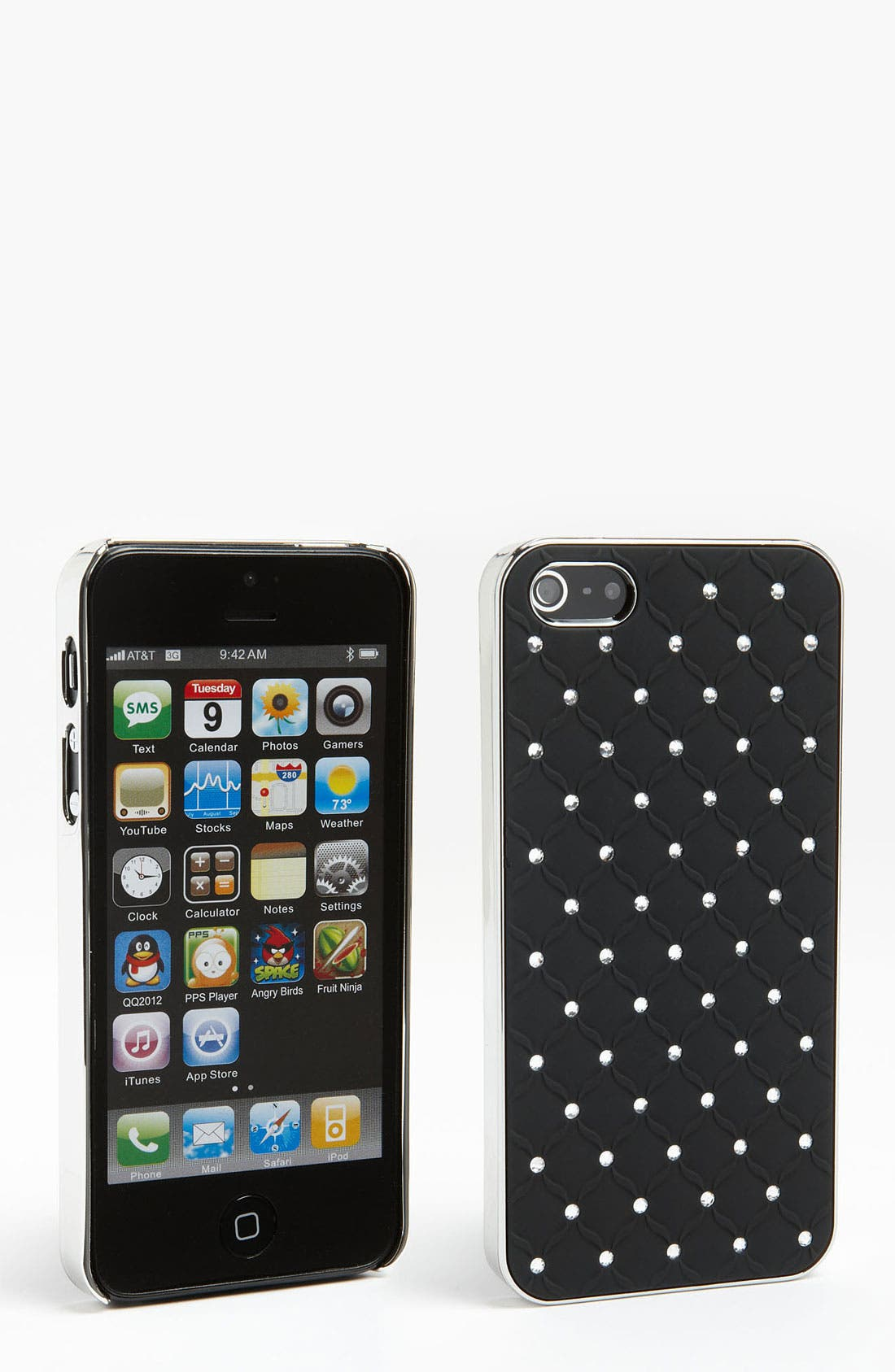 Main Image - BP. Crystal Embellished iPhone 5 Case