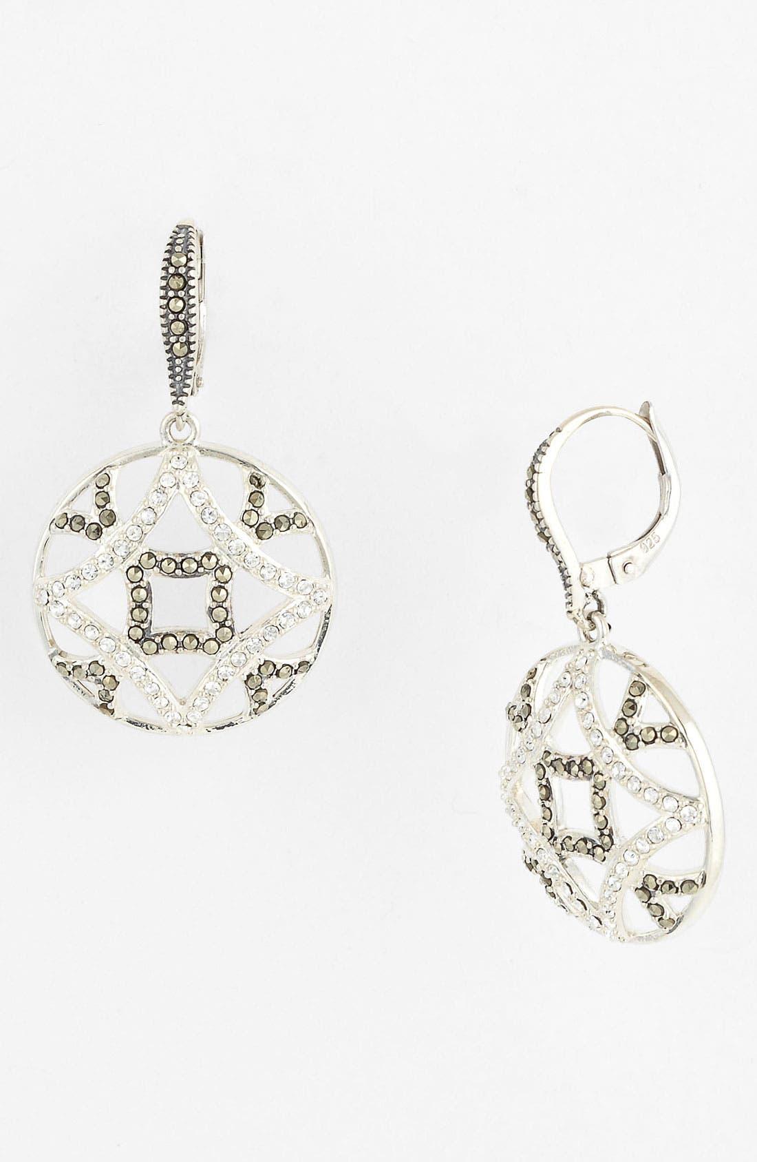 Main Image - Judith Jack 'Turq Matrix' Drop Earrings