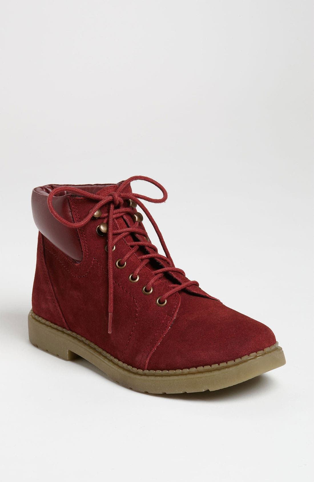 Alternate Image 1 Selected - Topshop 'Mario' Hiking Boot (Women)