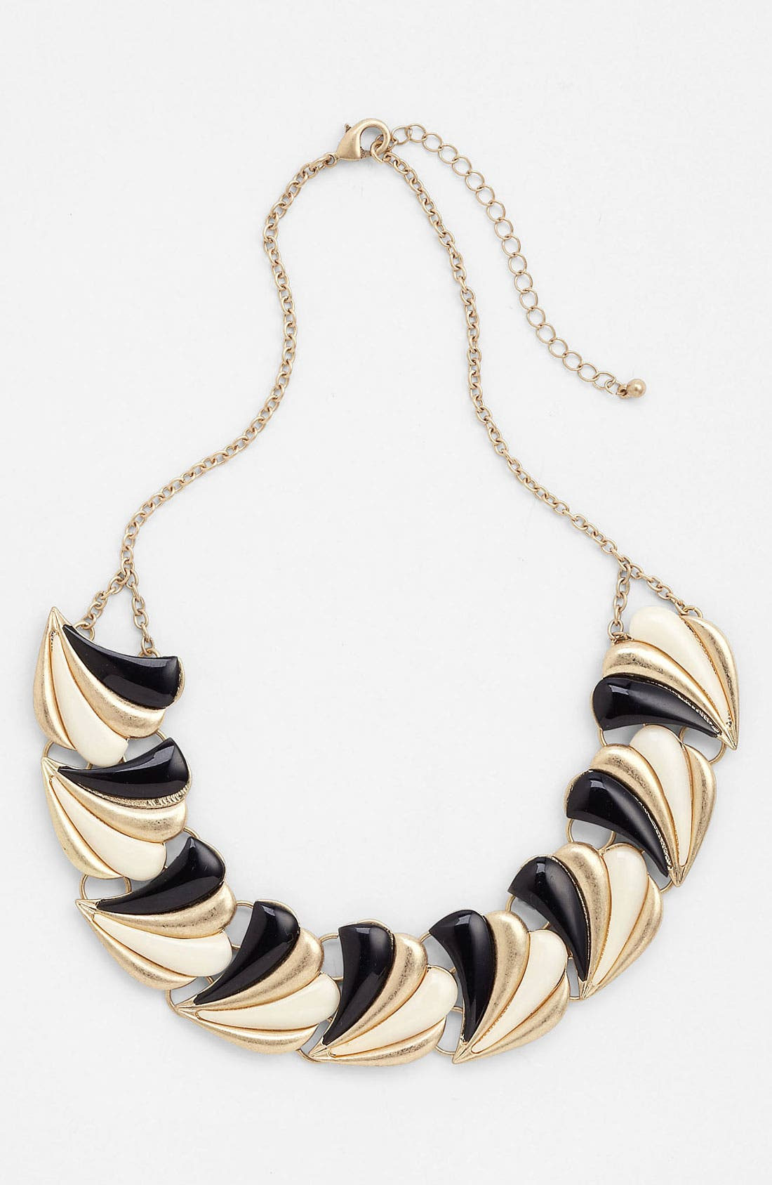Main Image - Panacea Black & White Collar Necklace