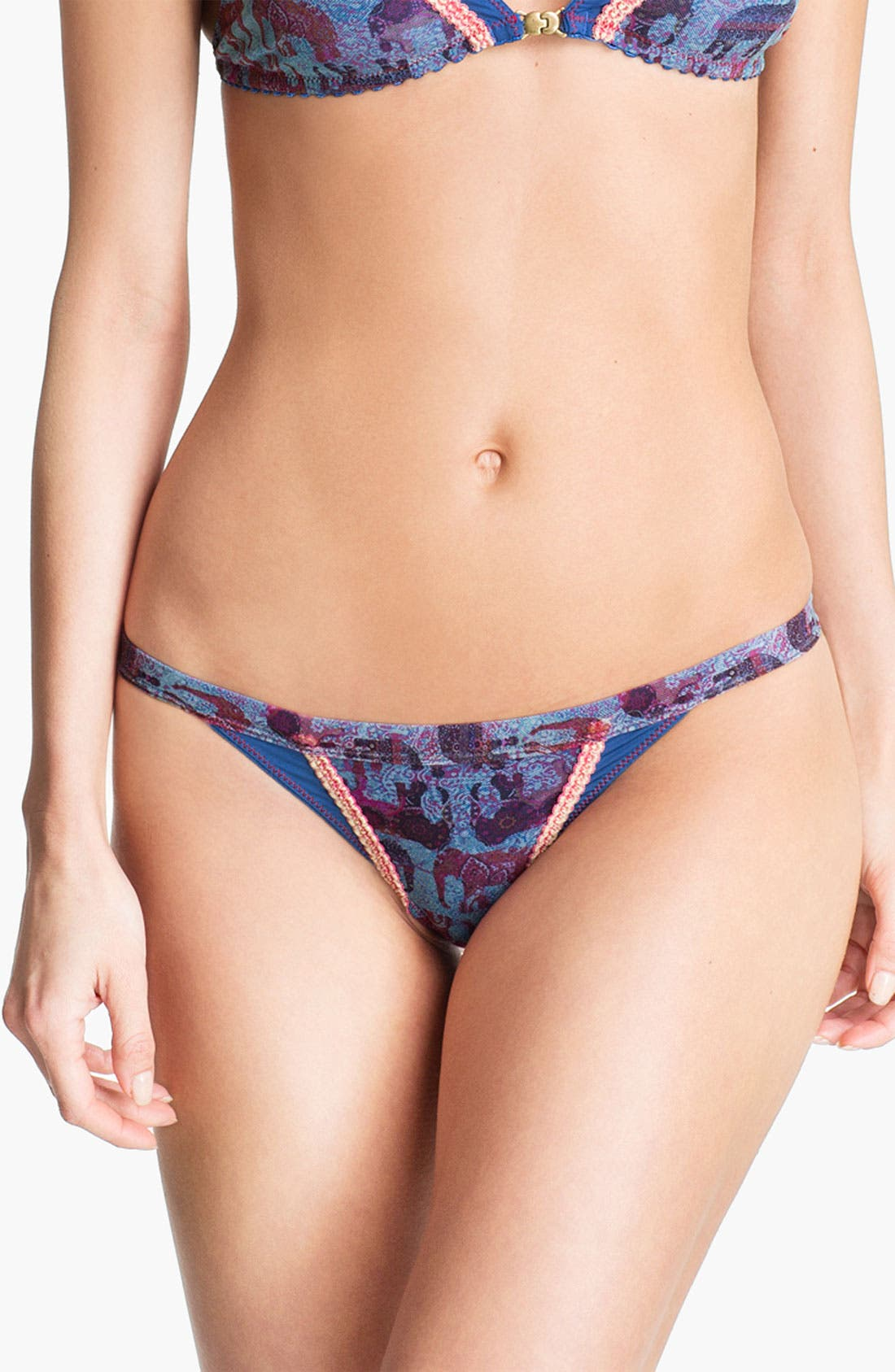 Main Image - Maaji 'Find Your Heart' Low Rise Thong