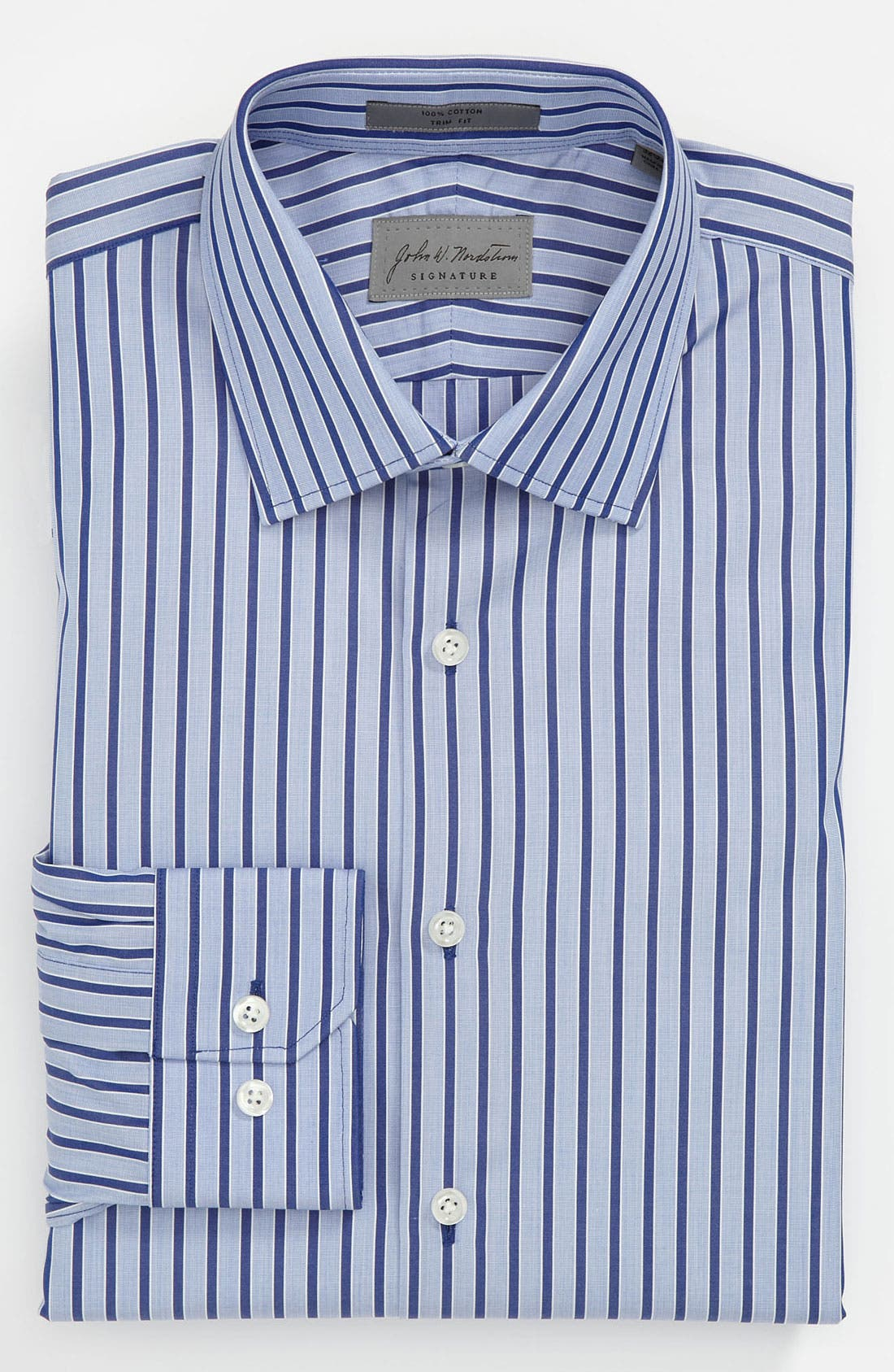 Main Image - John W. Nordstrom® Signature Trim Fit Dress Shirt (Online Only)