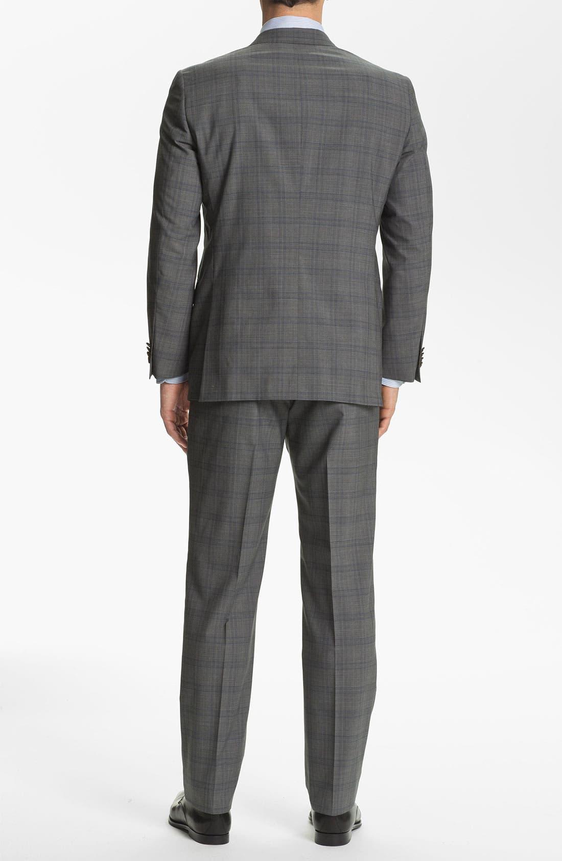 Alternate Image 3  - Hart Schaffner Marx Plaid Wool Suit