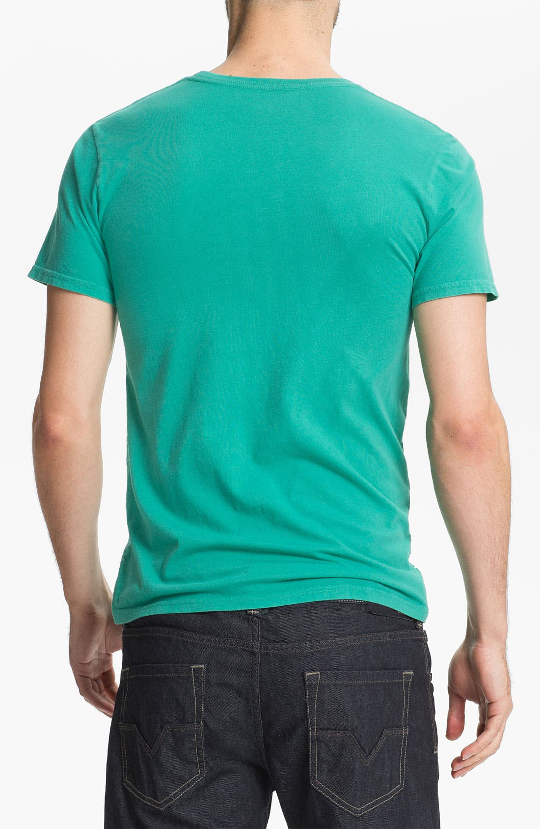 Alternate Image 2  - Altru 'Shark Lines' Pocket T-Shirt