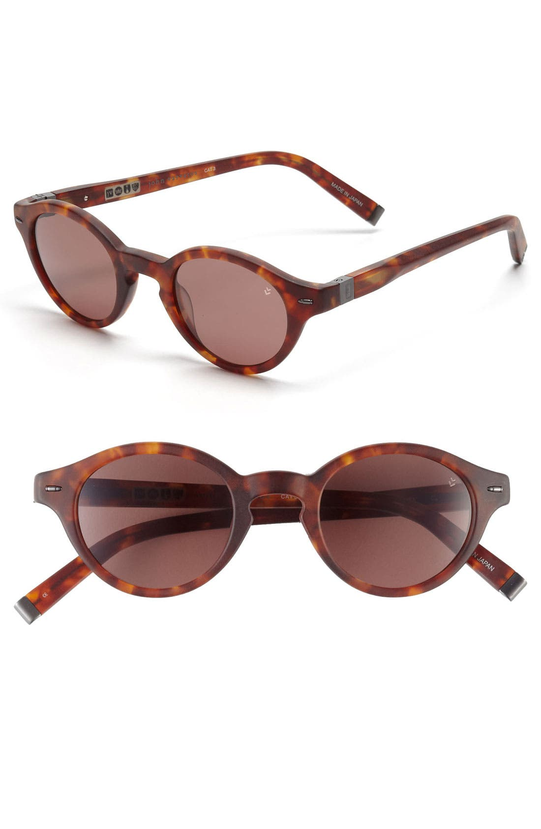 Main Image - John Varvatos Collection 43mm Sunglasses