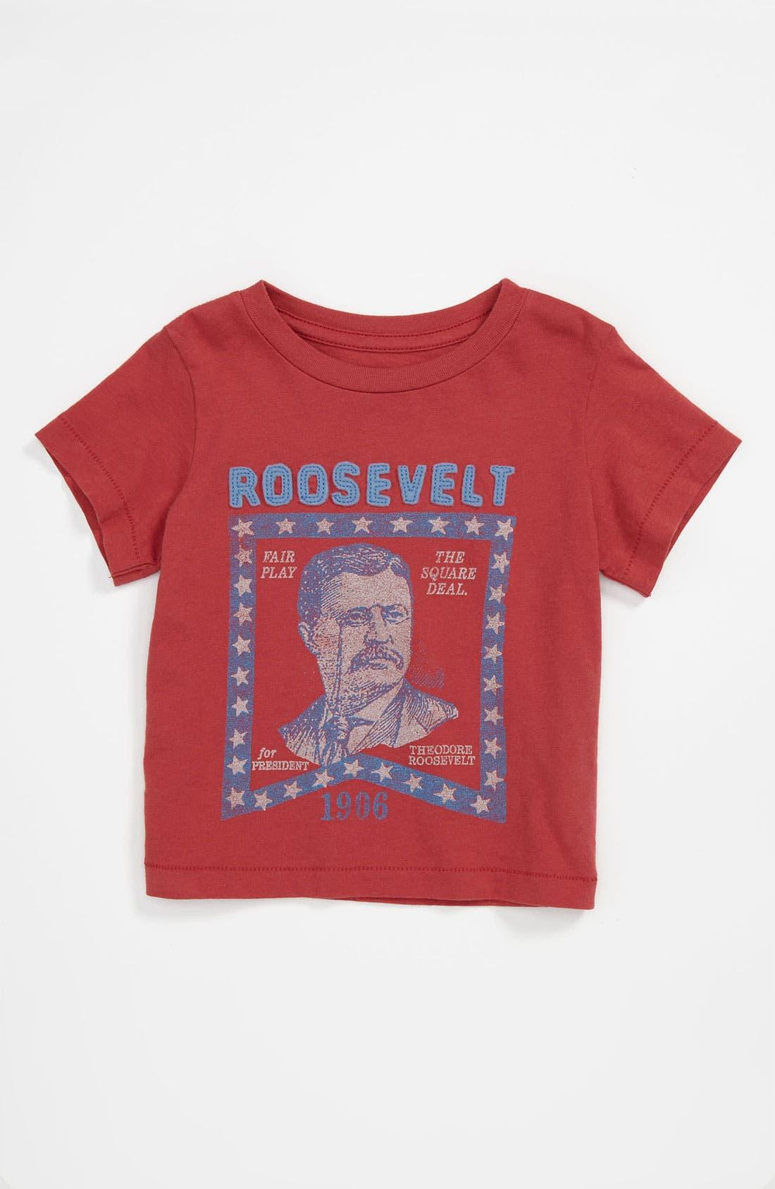 Alternate Image 1 Selected - Peek 'Roosevelt' T-Shirt (Infant)