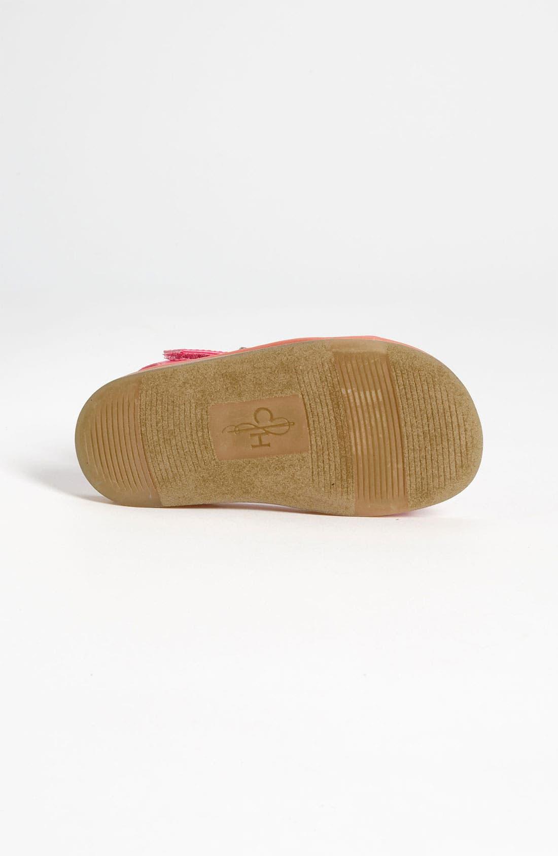 Alternate Image 4  - Cole Haan 'Apple Bow' Sandal (Walker & Toddler)
