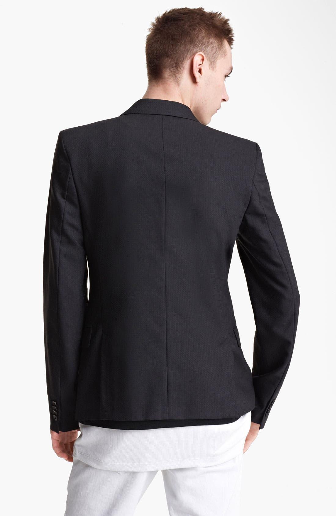 Alternate Image 2  - BLK DNM Slim Fit Wool Blazer
