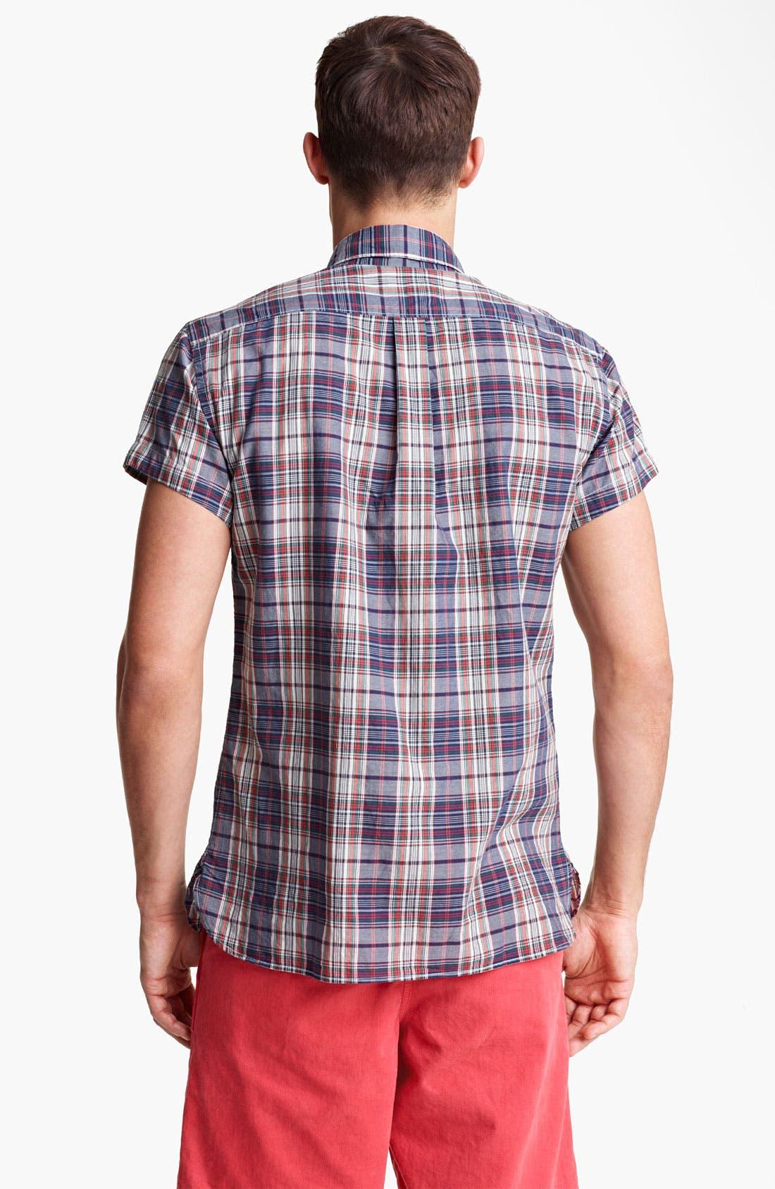 Alternate Image 2  - Todd Snyder Plaid Shirt