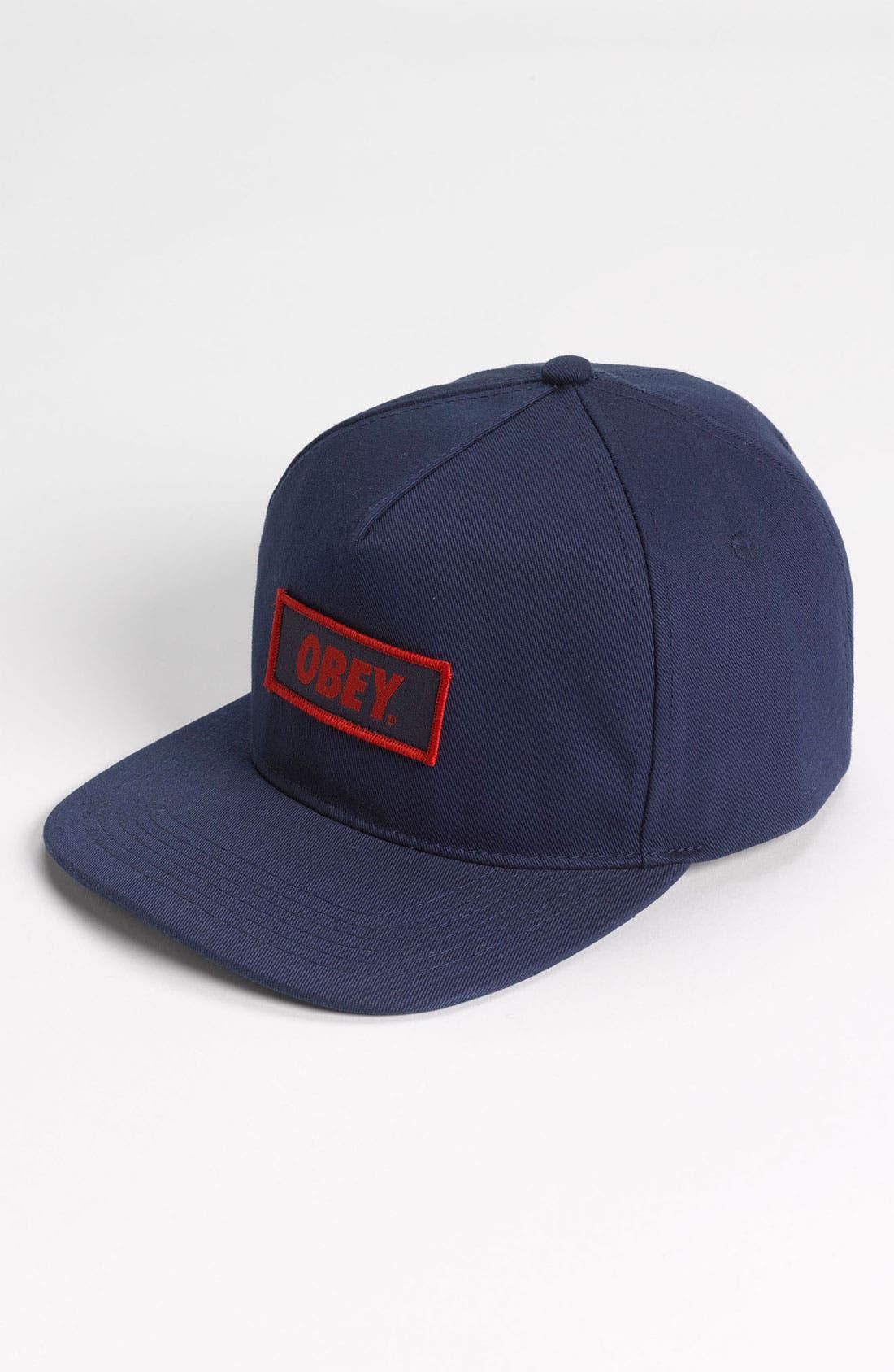 Alternate Image 1 Selected - Obey 'New Original' Snapback Hat