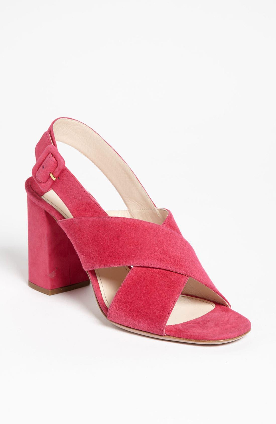 Main Image - Prada Crisscross Slingback Sandal