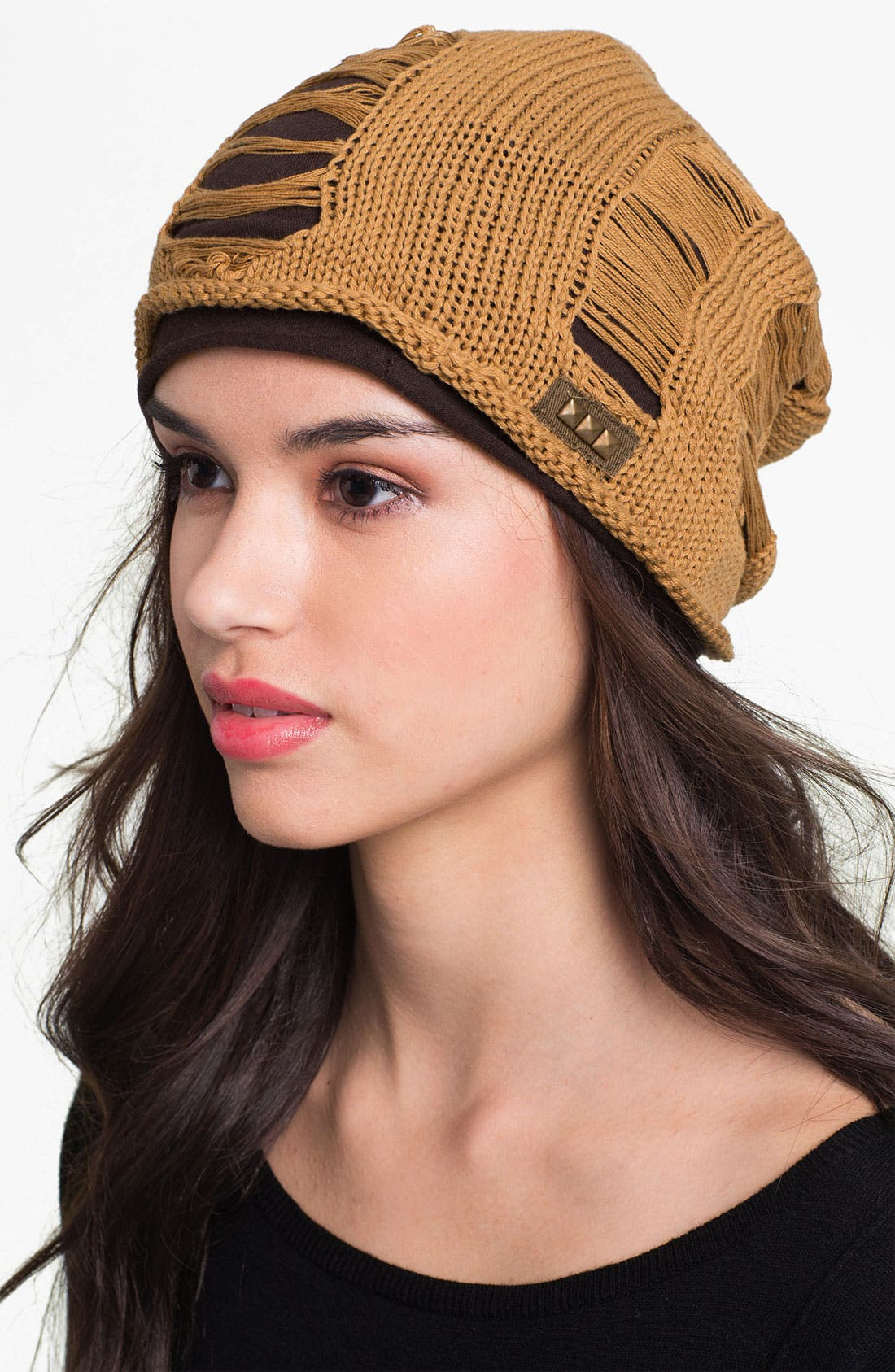 Alternate Image 1 Selected - Grace Hats Slouchy Beanie