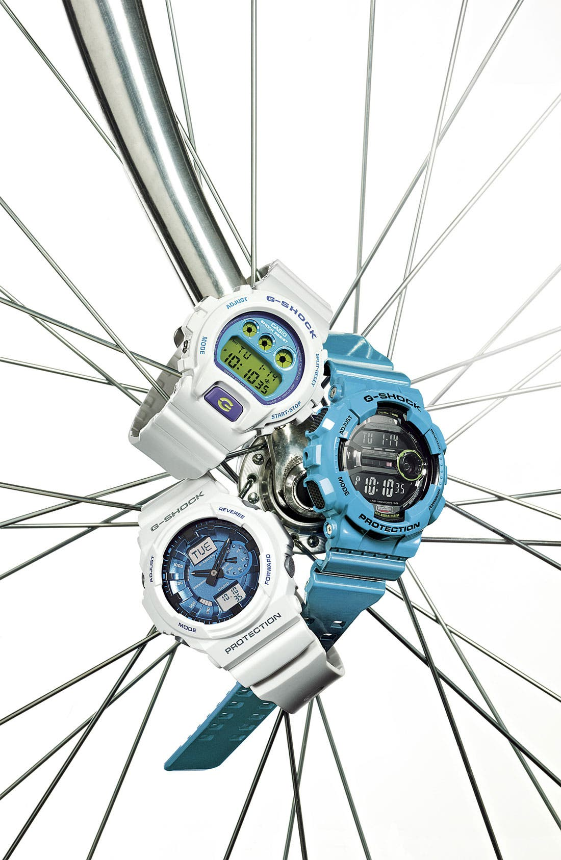 Alternate Image 4  - G-Shock 'X-Large' Digital Watch, 55mm x 51mm