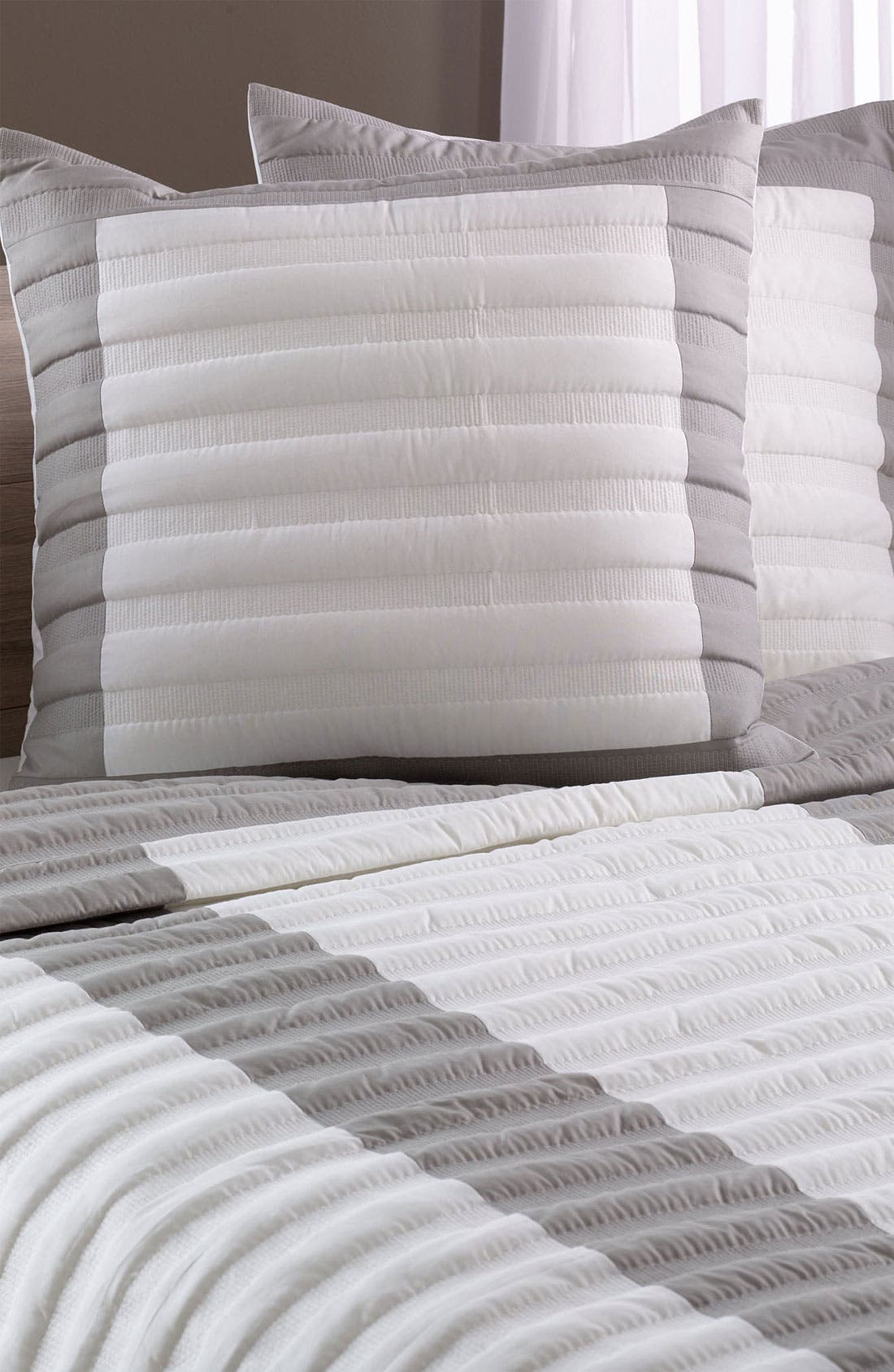 Alternate Image 1 Selected - Nordstrom at Home 'Shadow Stripe' Euro Sham