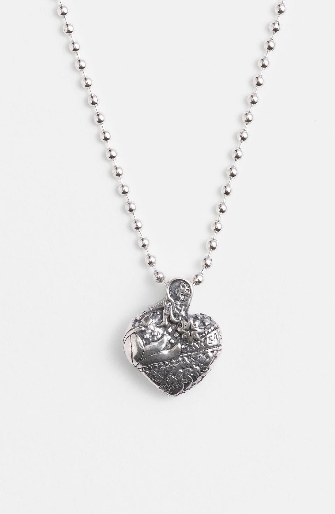 'Hearts of LAGOS - Las Vegas' Reversible Pendant Necklace,                             Main thumbnail 1, color,                             Heart Of Las Vegas