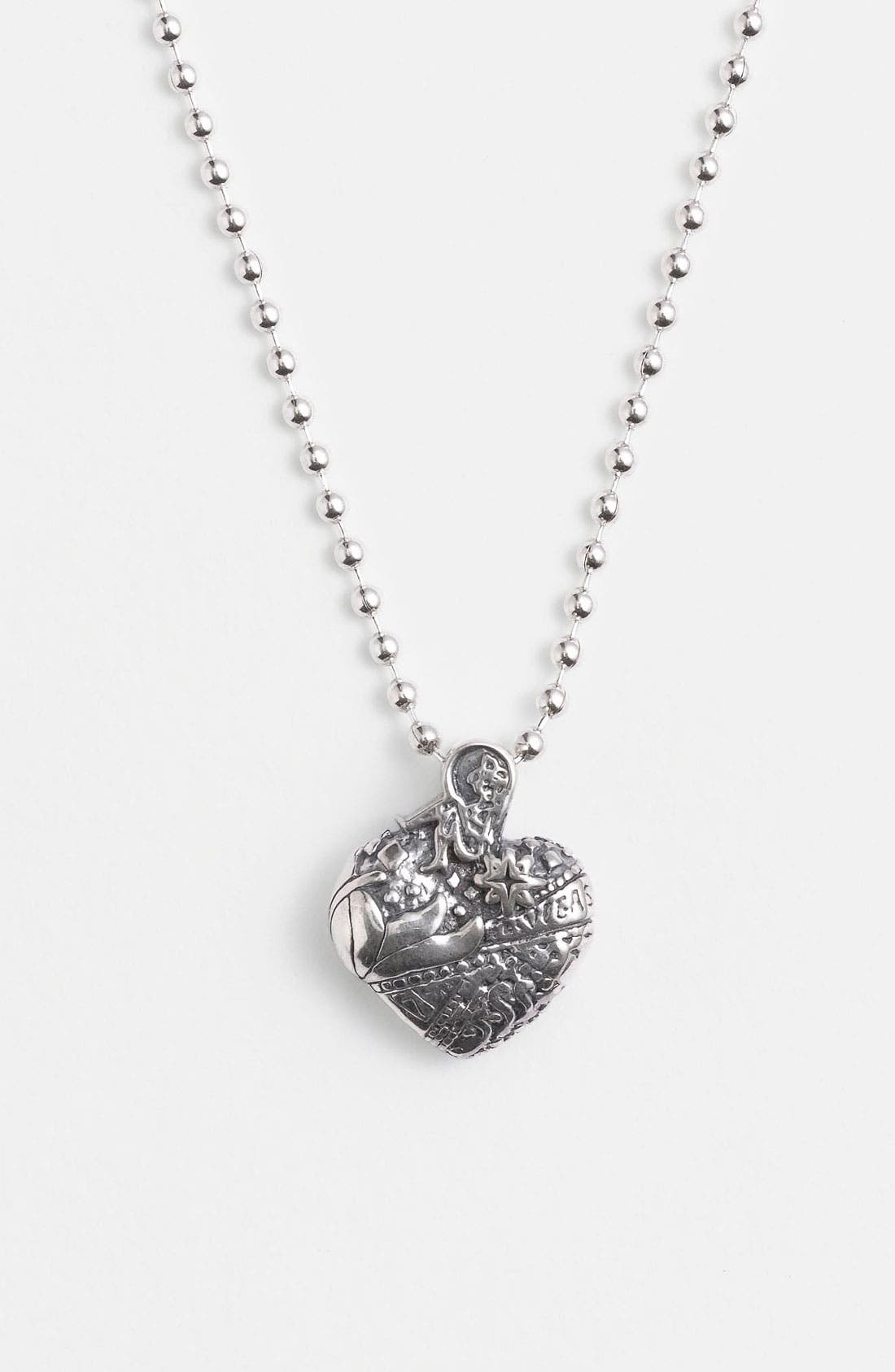'Hearts of LAGOS - Las Vegas' Reversible Pendant Necklace,                         Main,                         color, Heart Of Las Vegas