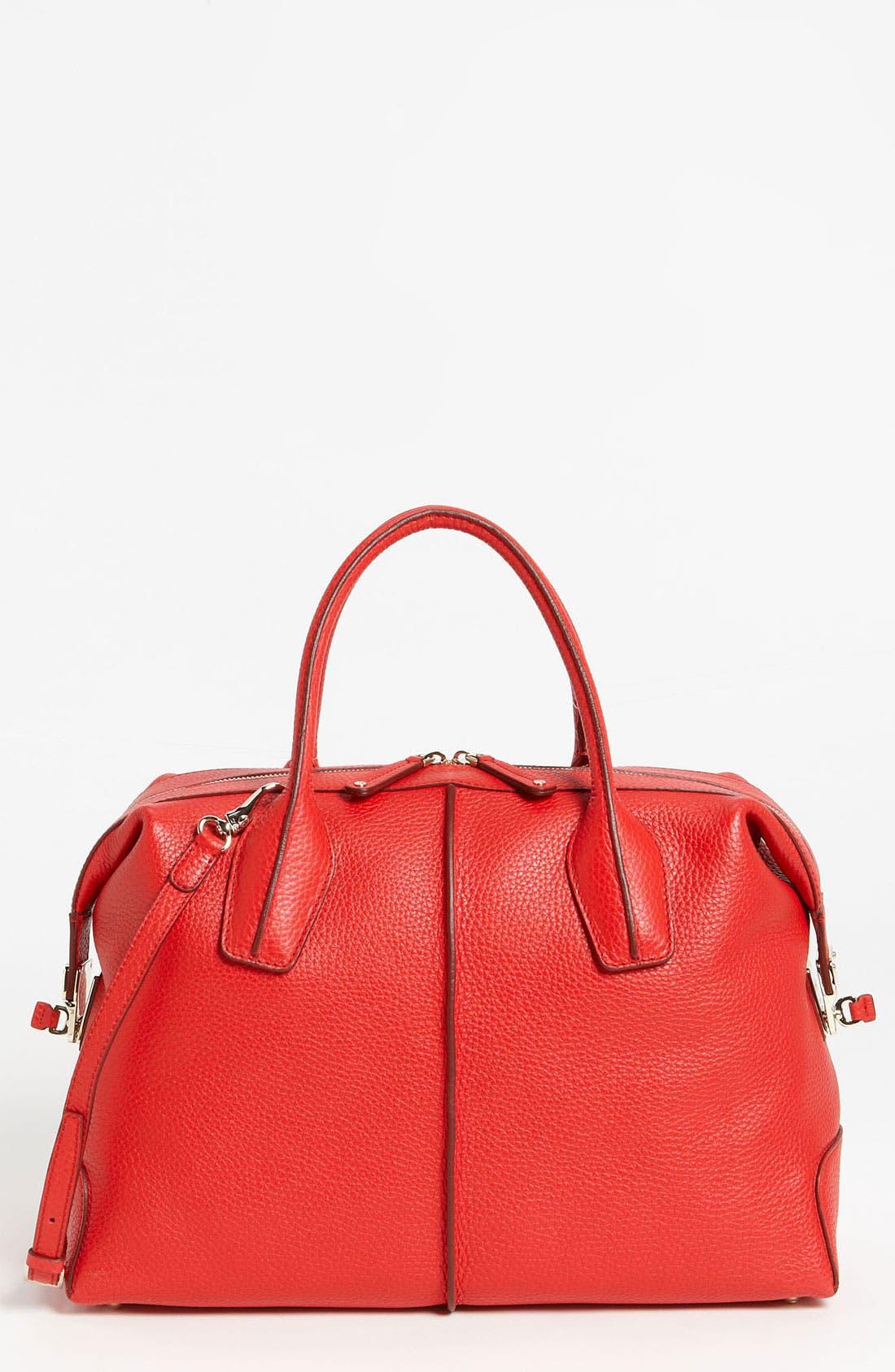 Main Image - Tod's 'D-Styling - Medium' Leather Shopper