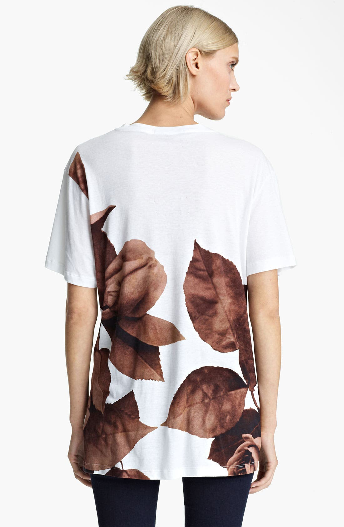 Alternate Image 2  - Christopher Kane Rose Print Tee