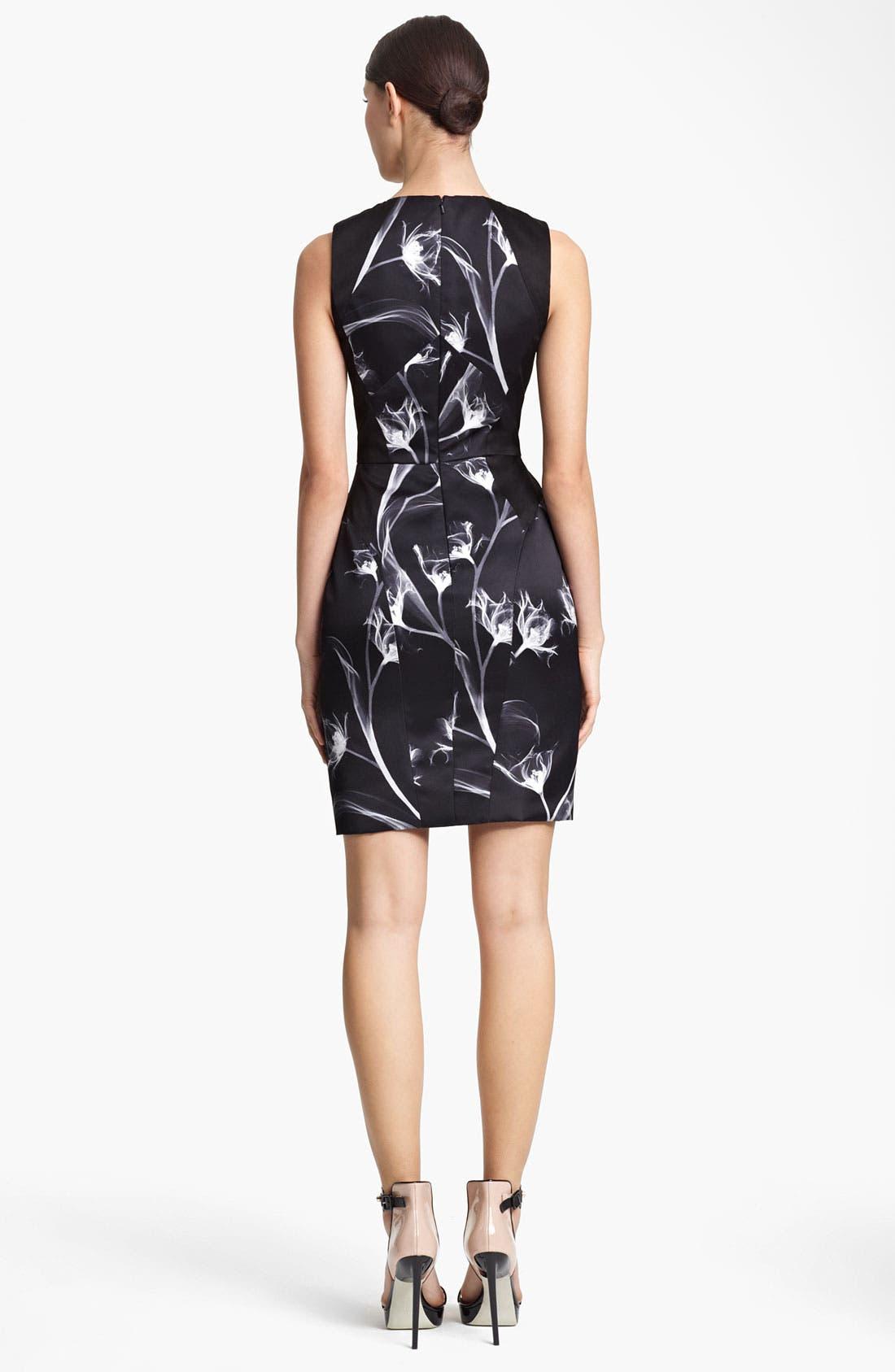 Alternate Image 3  - Jason Wu Floral Print Silk Sheath Dress