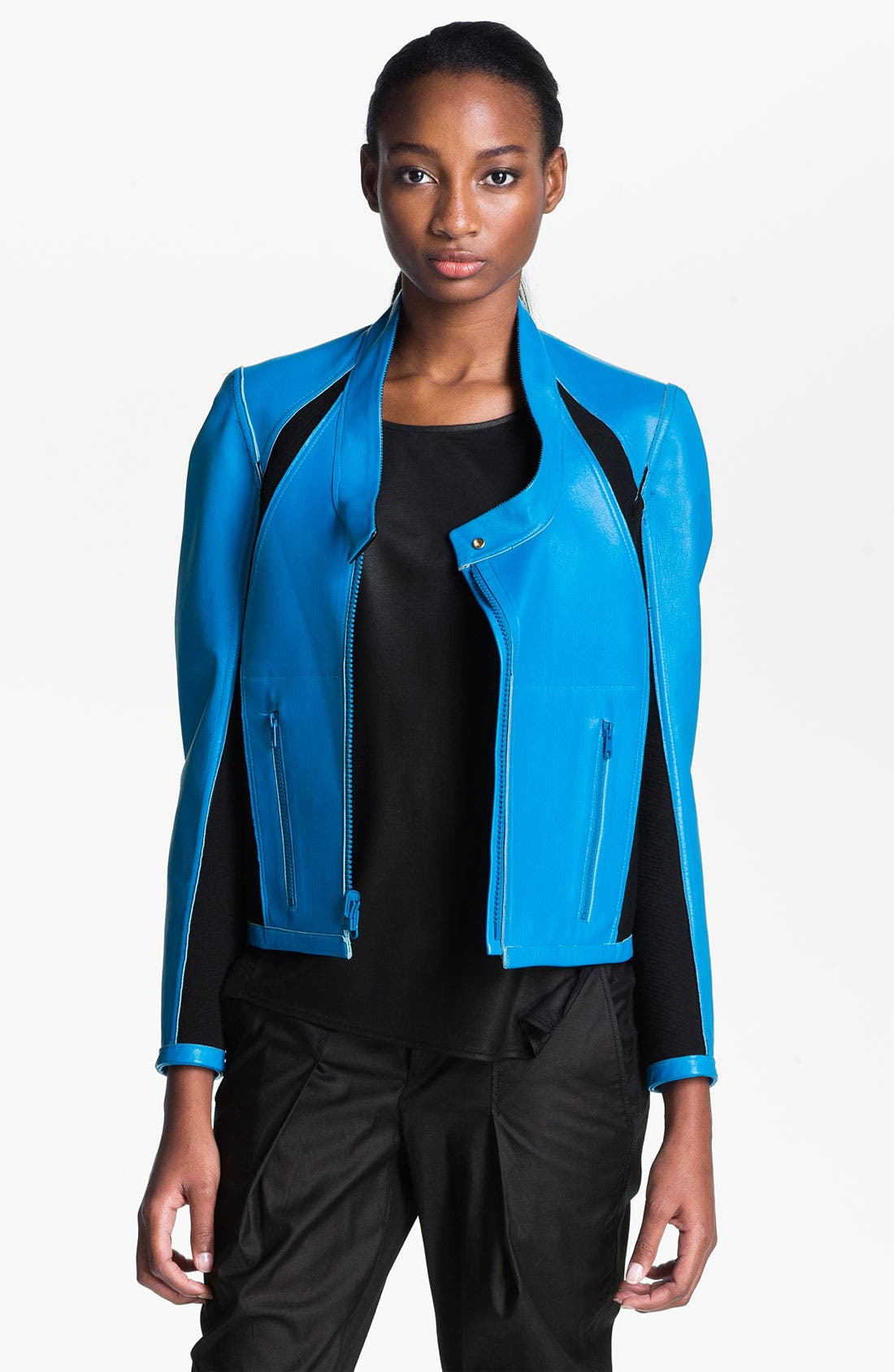 Alternate Image 2  - Helmut Lang Reversible Leather Jacket