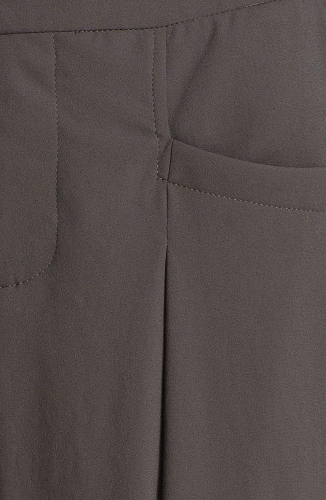 Alternate Image 5  - Helmut Lang Pleated Crepe Crop Pants
