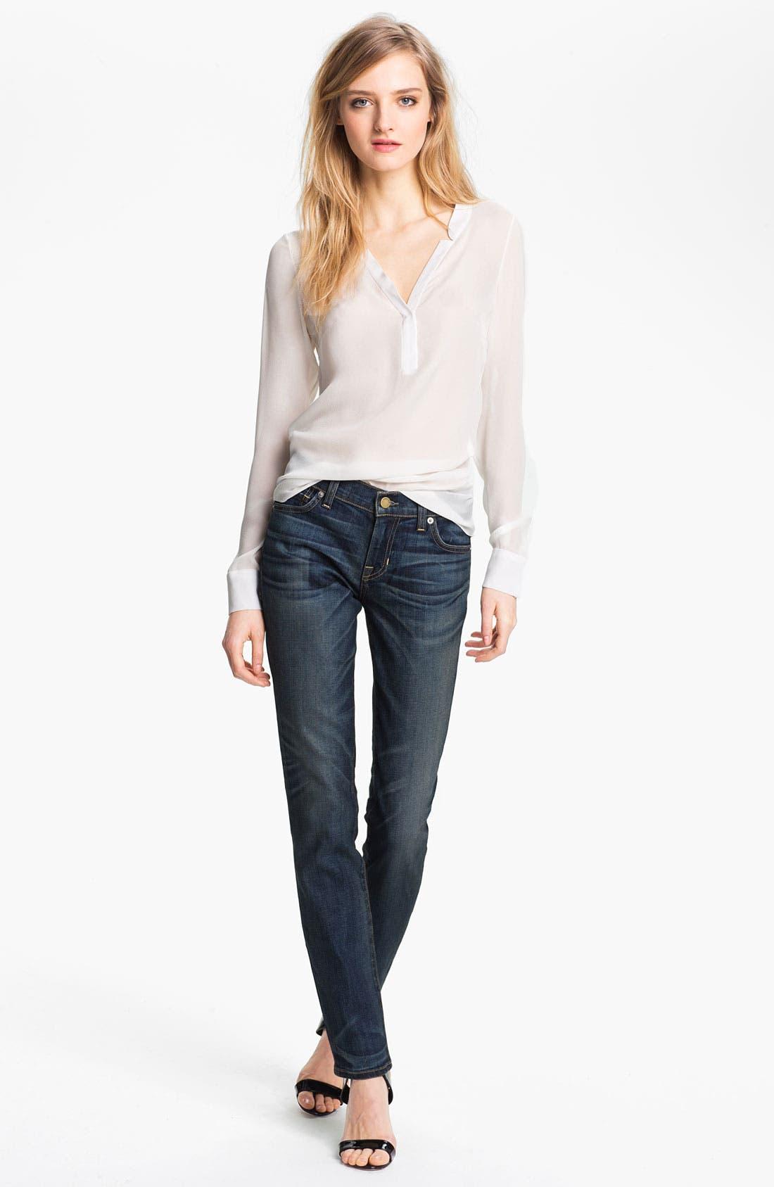 Alternate Image 3  - TEXTILE Elizabeth and James 'Debbie' Skinny Jeans