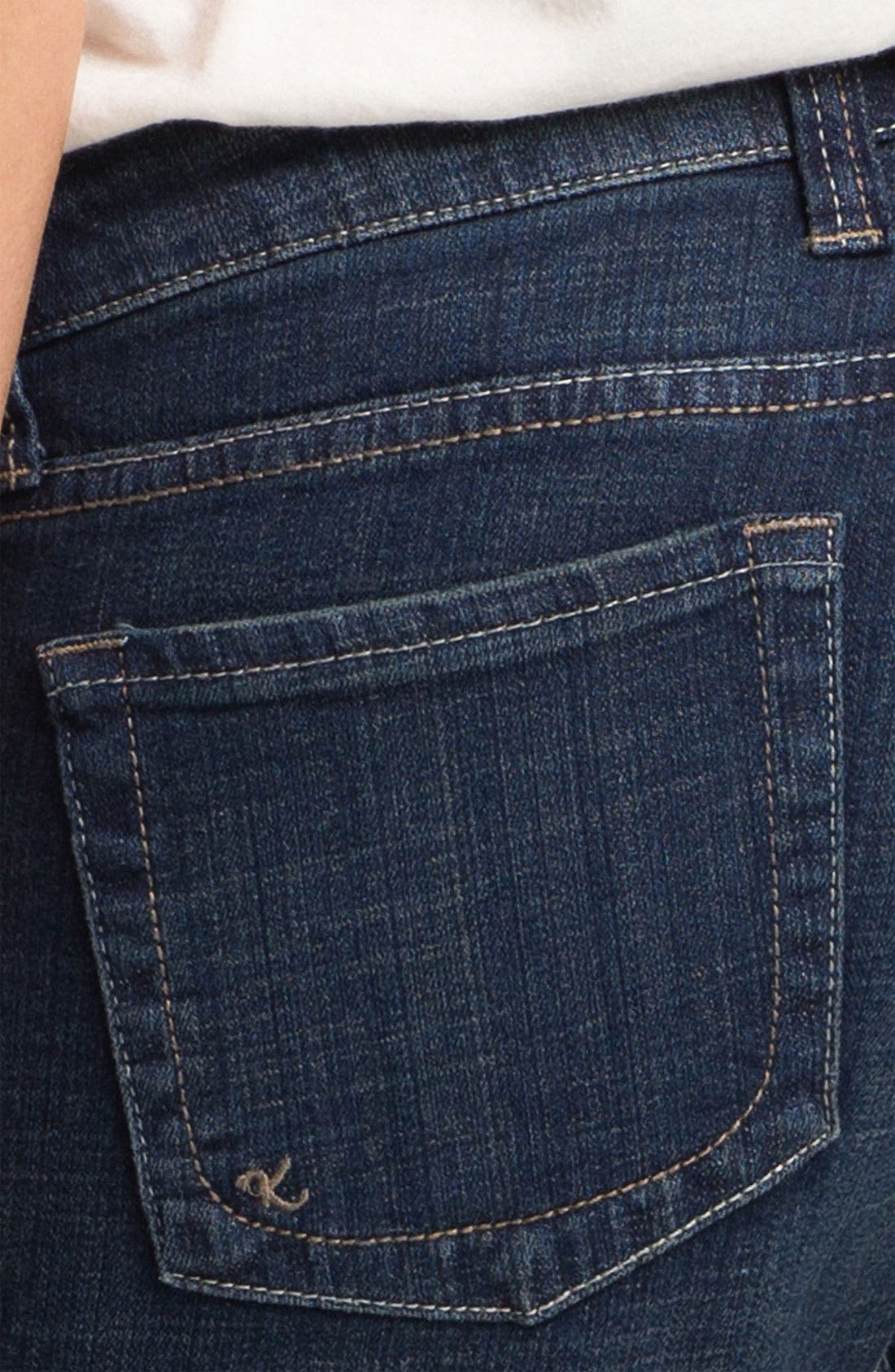 Alternate Image 3  - KUT from the Kloth 'Mia' Toothpick Jeans (Natural)