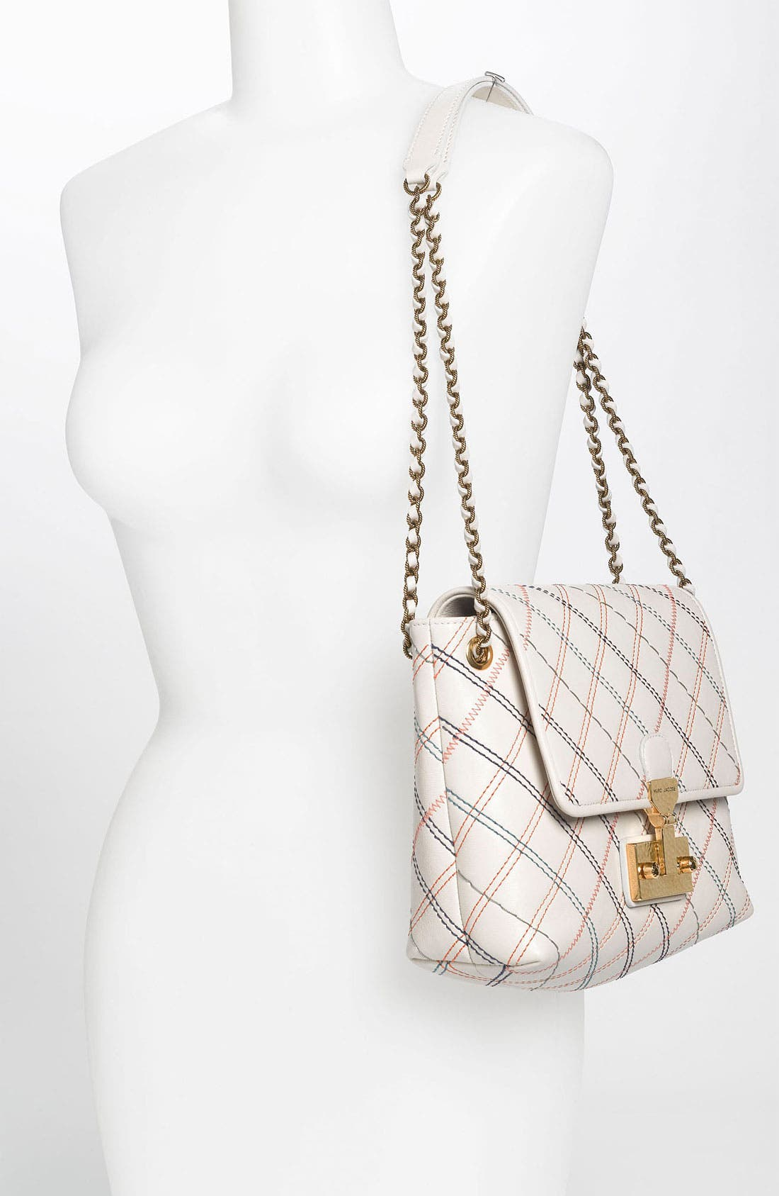 Alternate Image 2  - MARC JACOBS 'Multistitch Single - Large' Leather Shoulder Bag