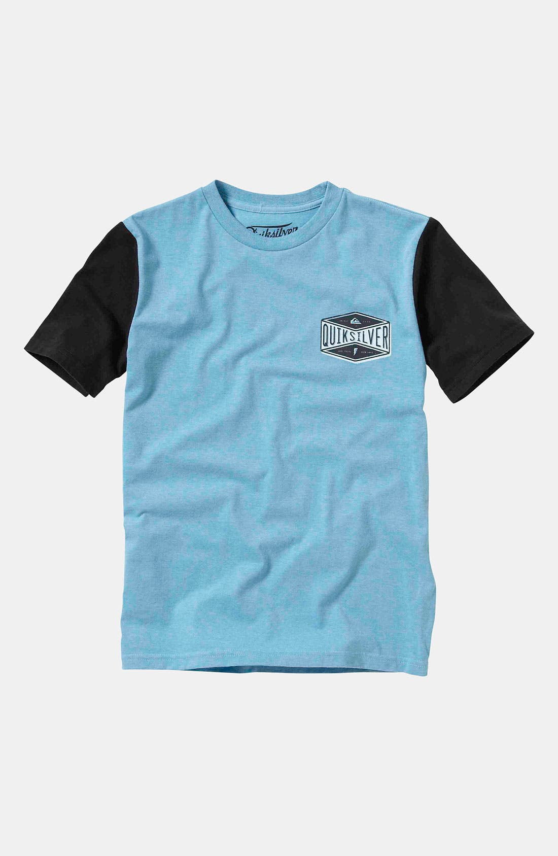 Alternate Image 1 Selected - Quiksilver 'Surf Faster' Crewneck Top (Big Boys)