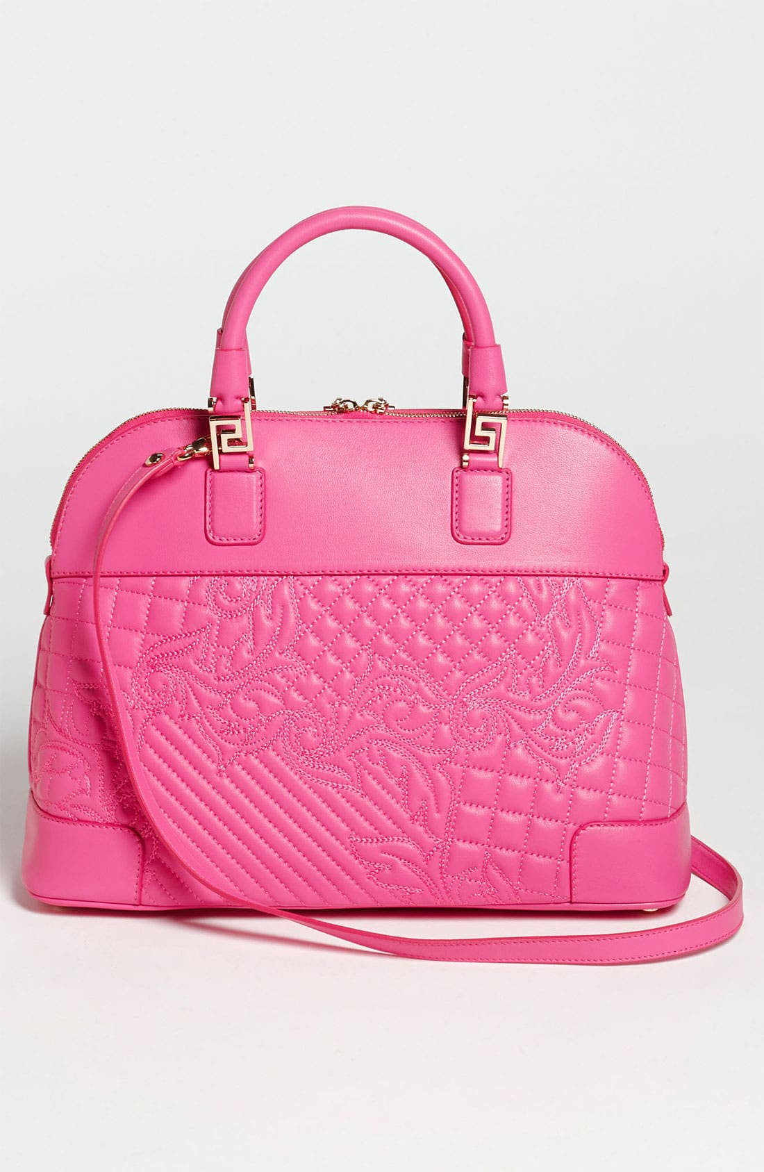 Alternate Image 4  - Versace 'Vanitas' Embroidered Leather Satchel