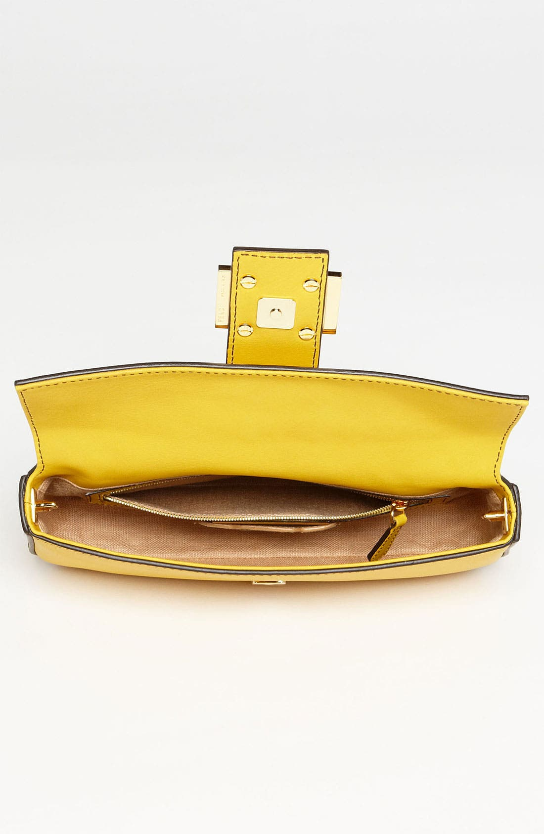 Alternate Image 3  - Fendi Leather Baguette