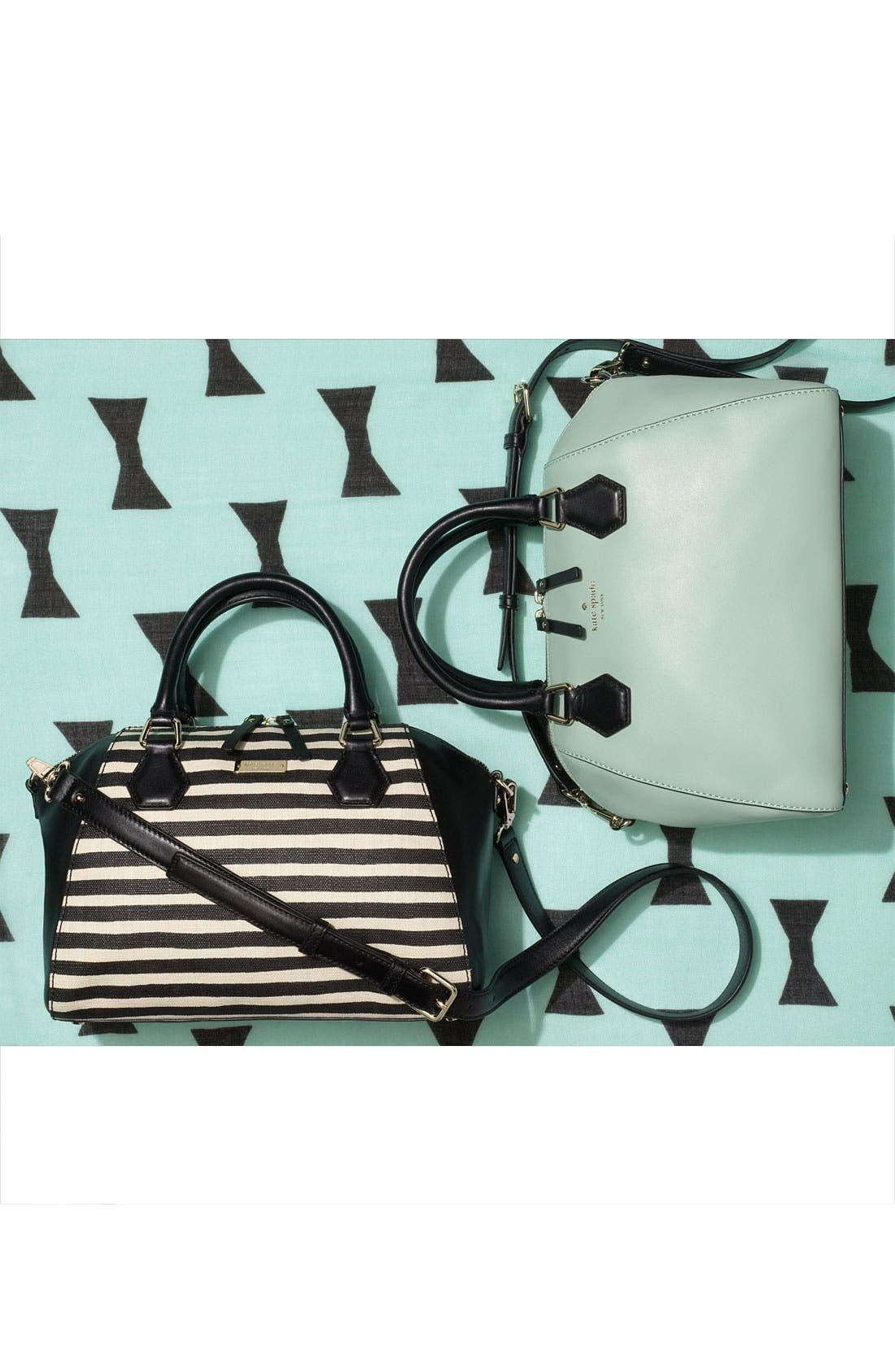 Alternate Image 5  - kate spade new york 'catherine street - pippa' stripe satchel