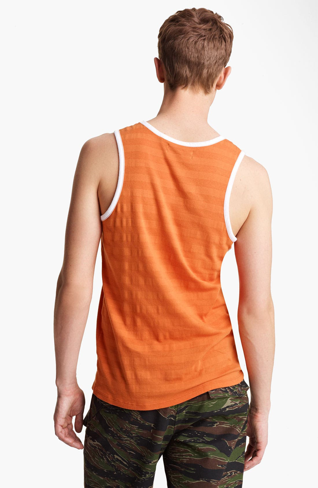 Alternate Image 2  - Field Scout Shadow Stripe Tank Top