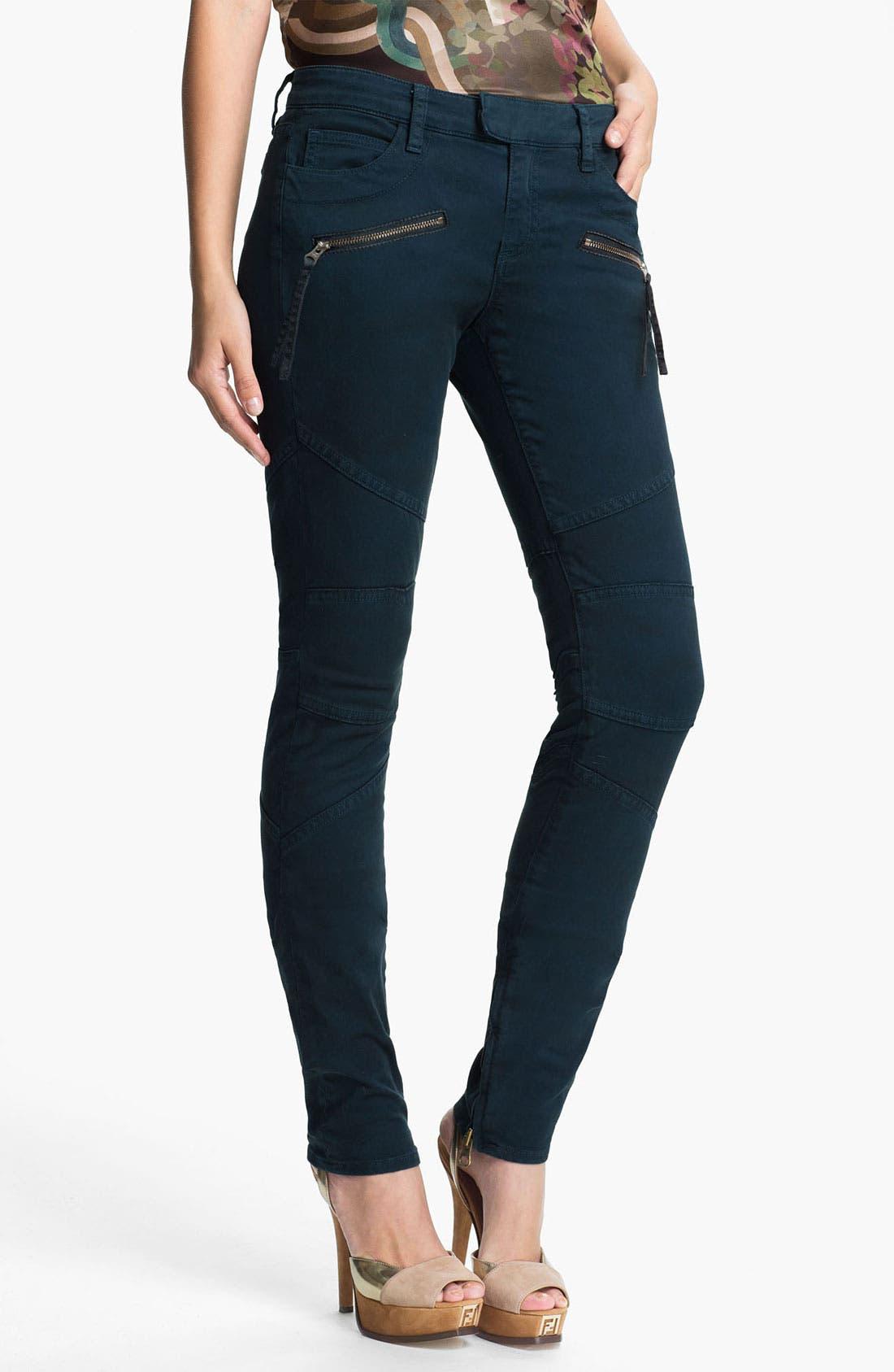 Alternate Image 1 Selected - Skaist-Taylor Twill Moto Pants