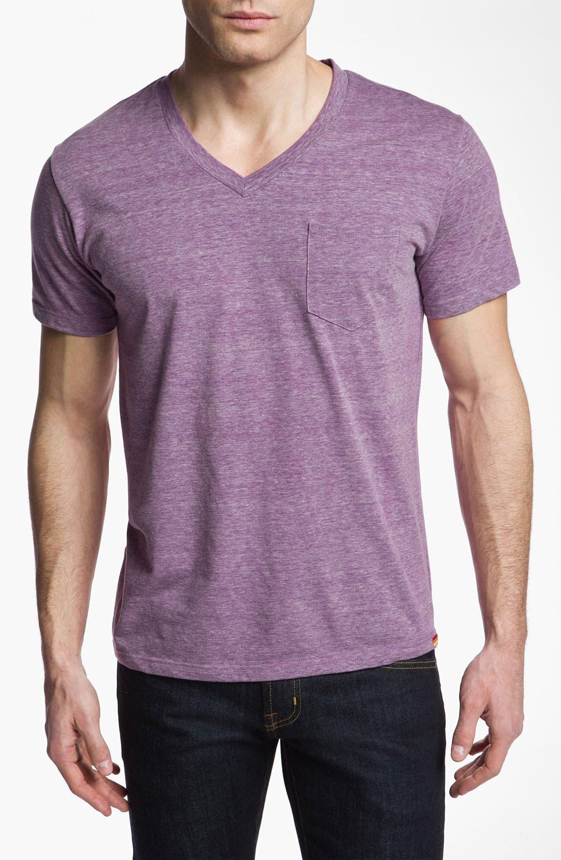 Alternate Image 1 Selected - Sundek 'Pantone®' V-Neck T-Shirt (Online Only)