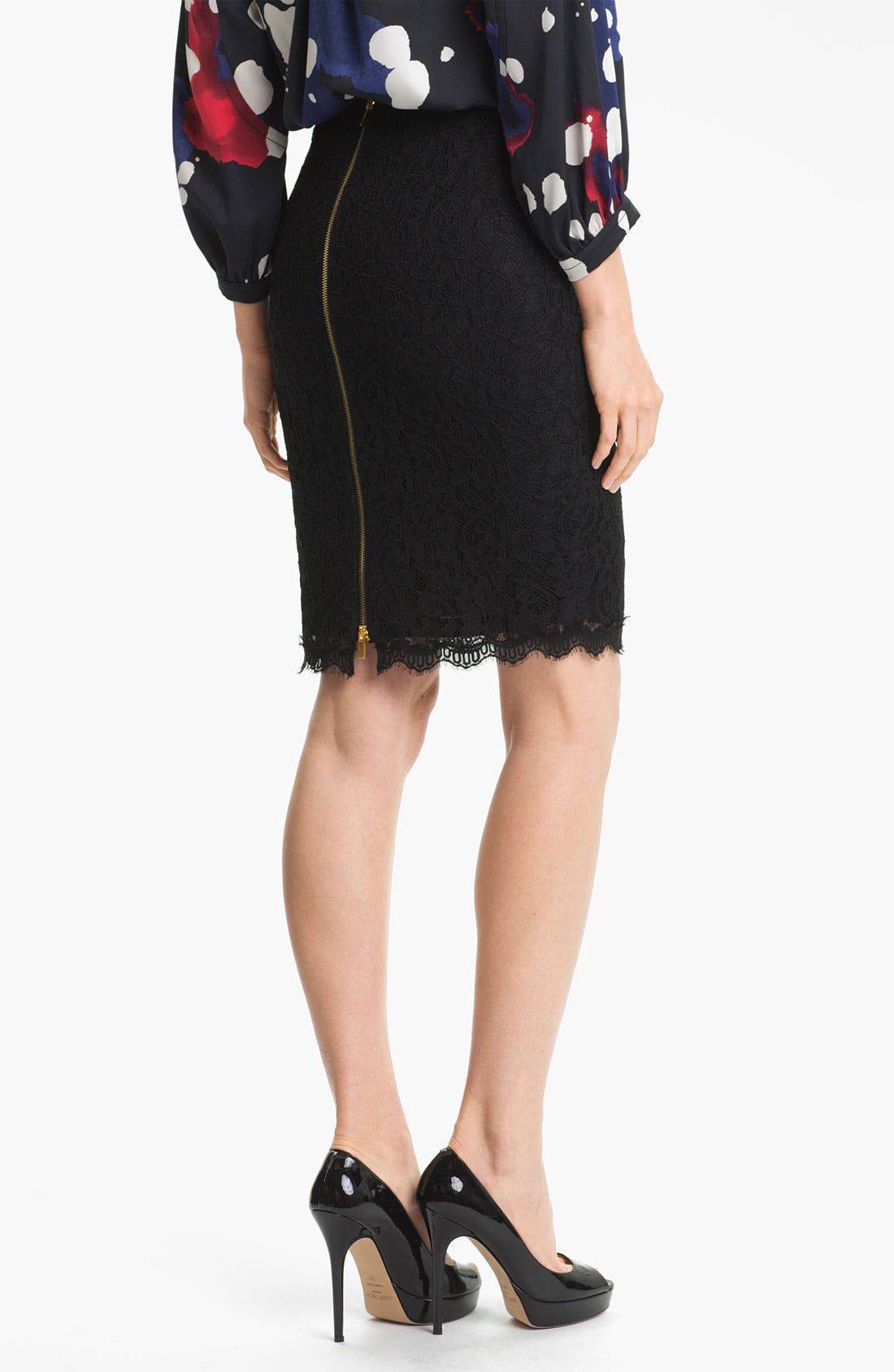 Alternate Image 2  - Diane von Furstenberg 'Scotia' Lace Skirt