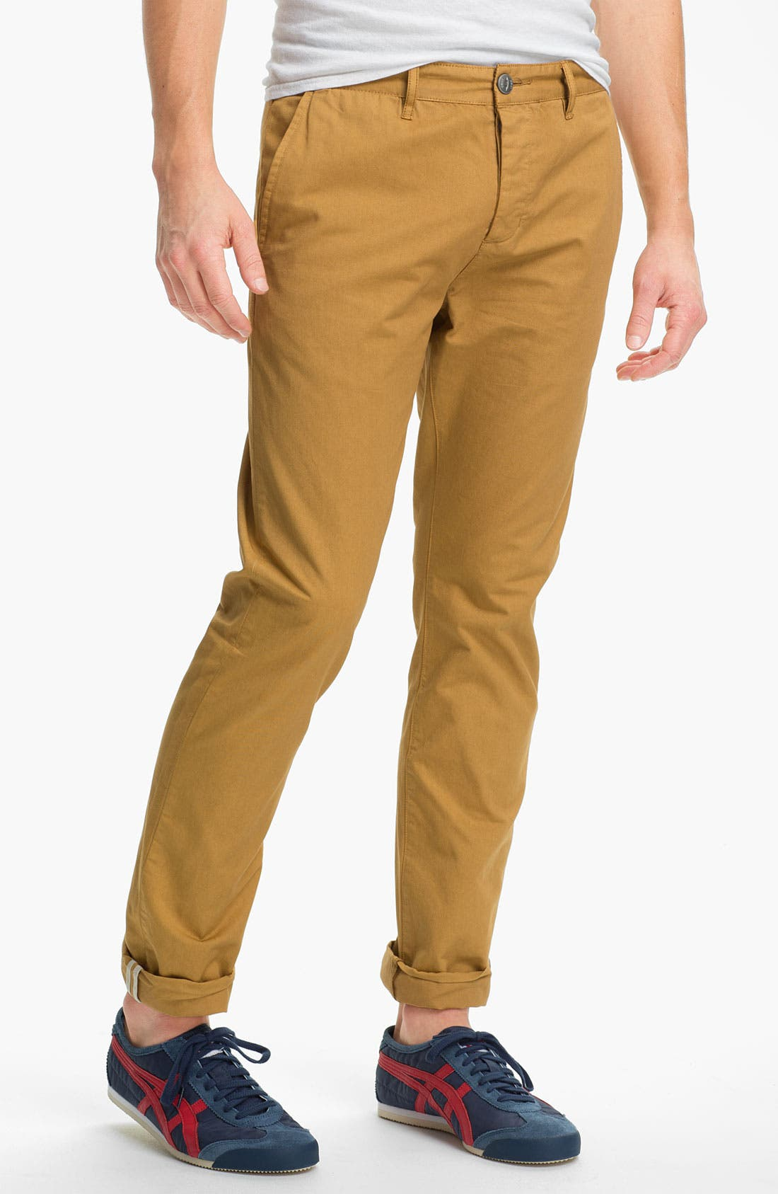 Alternate Image 1 Selected - Obey 'Classique' Slim Straight Leg Chinos