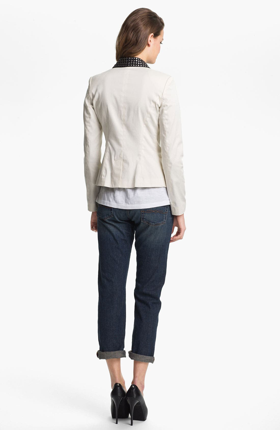 Alternate Image 4  - Lucky Brand 'Sienna' Tomboy Crop Jeans