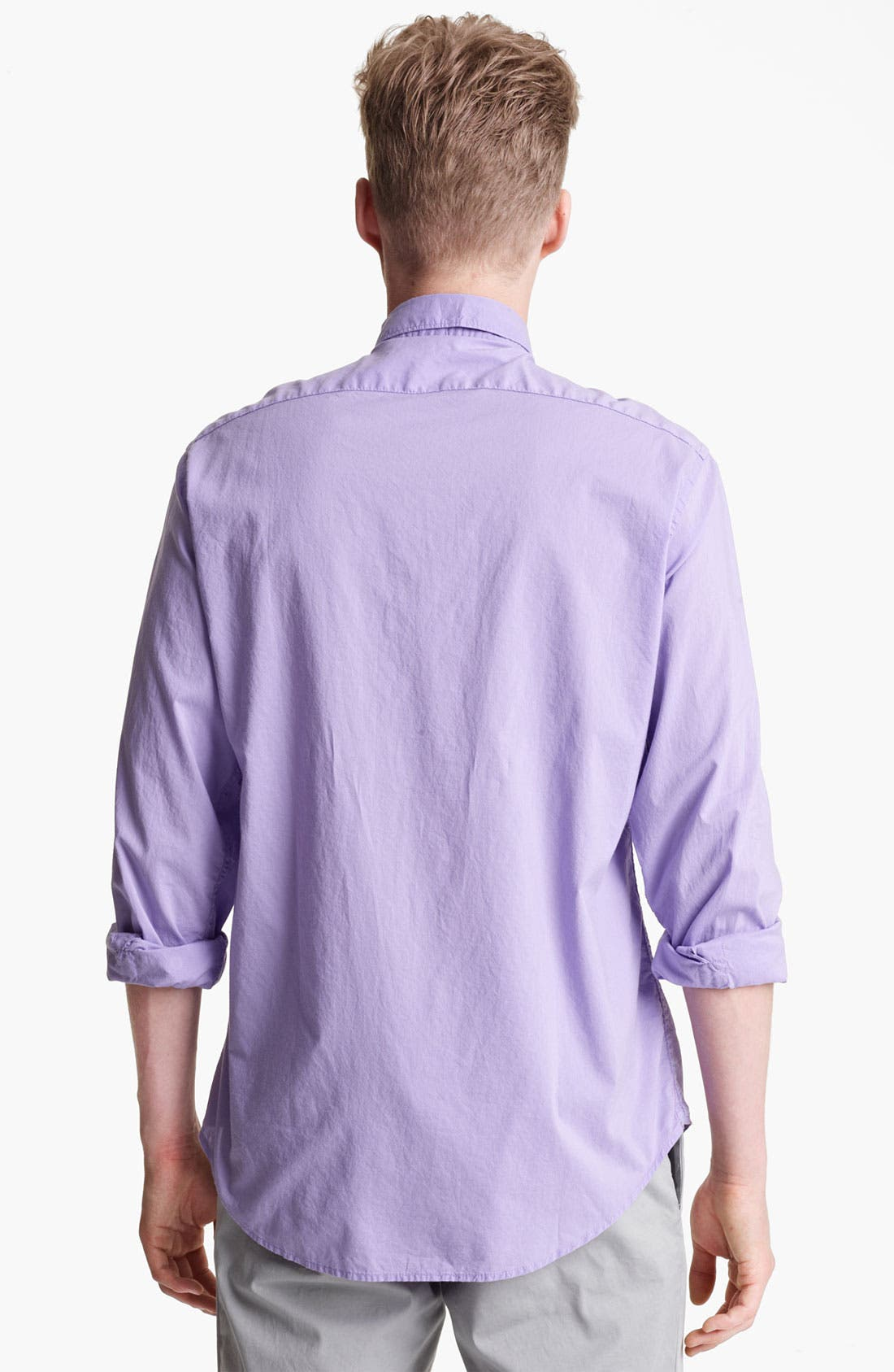 Alternate Image 2  - Mason's Poplin Woven Shirt