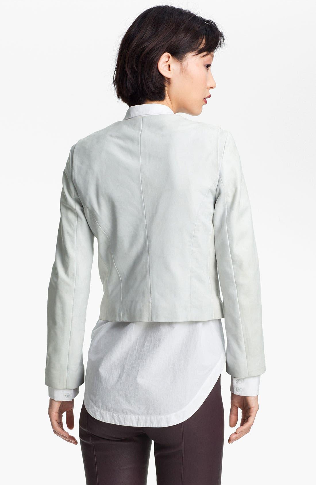Alternate Image 4  - Twenty8Twelve 'Rae' Leather Jacket