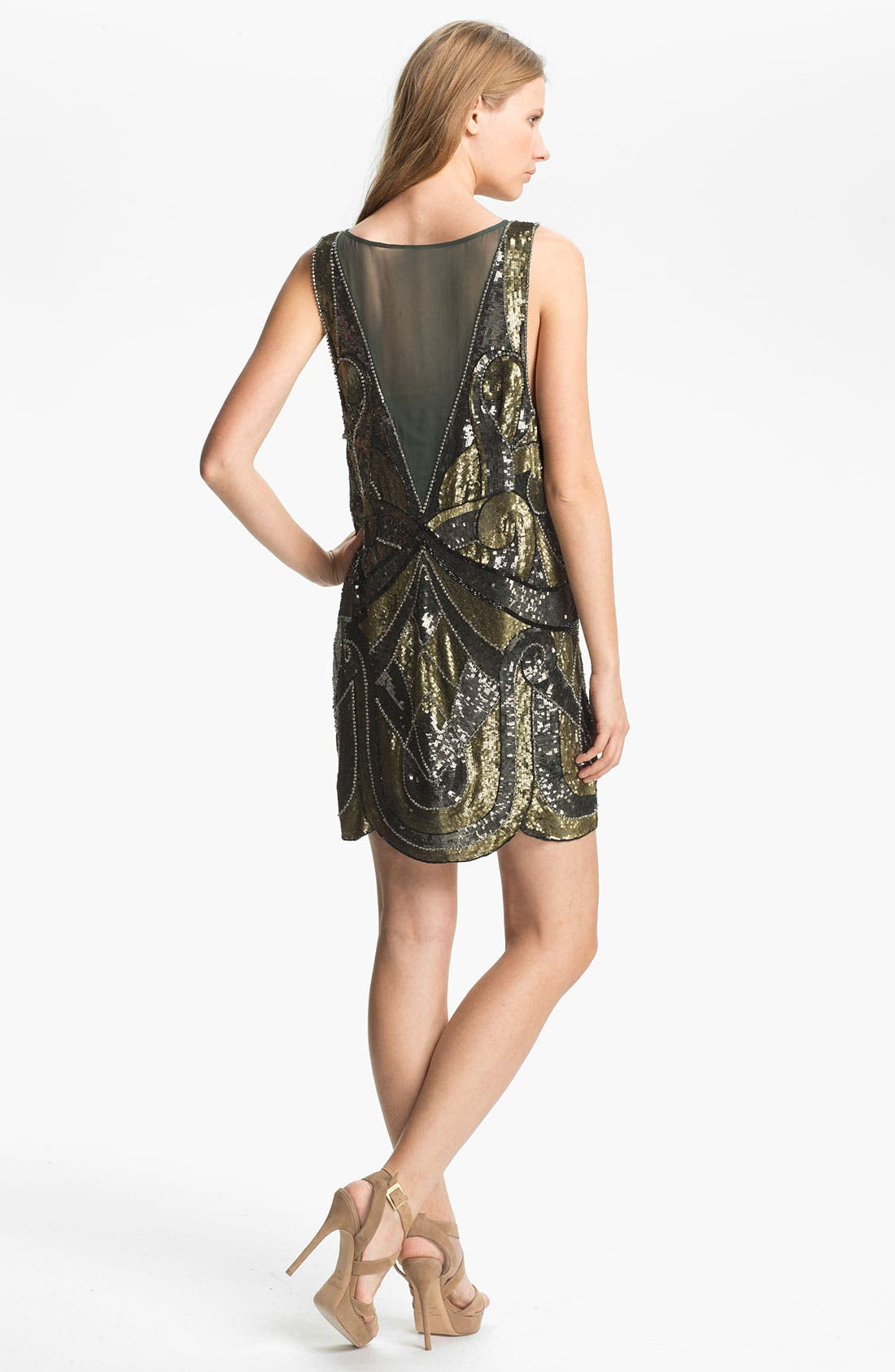 Alternate Image 2  - Haute Hippie Embellished Tank Dress