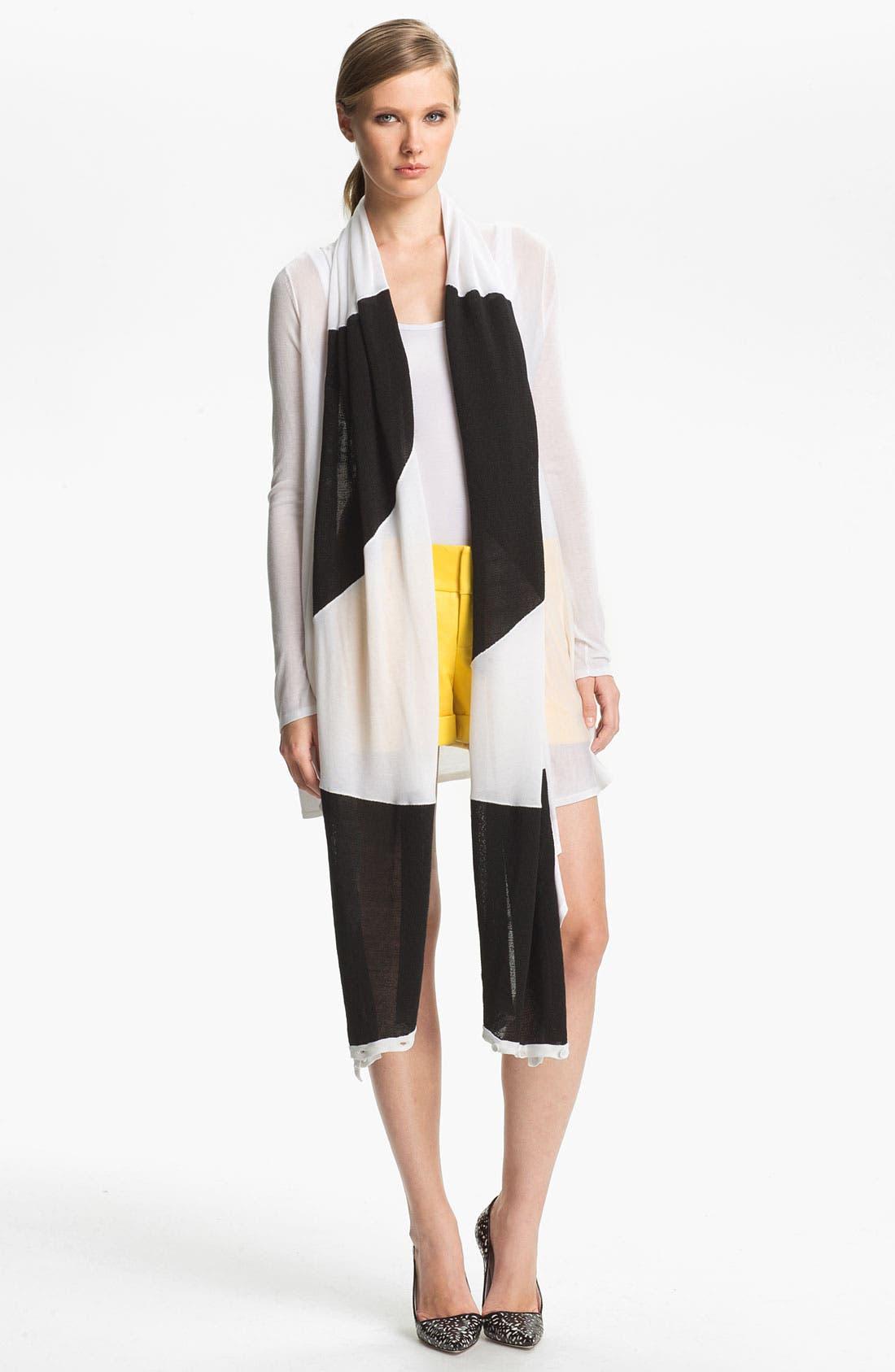Alternate Image 4  - Alice + Olivia 'Eric' Cuffed Leather Shorts