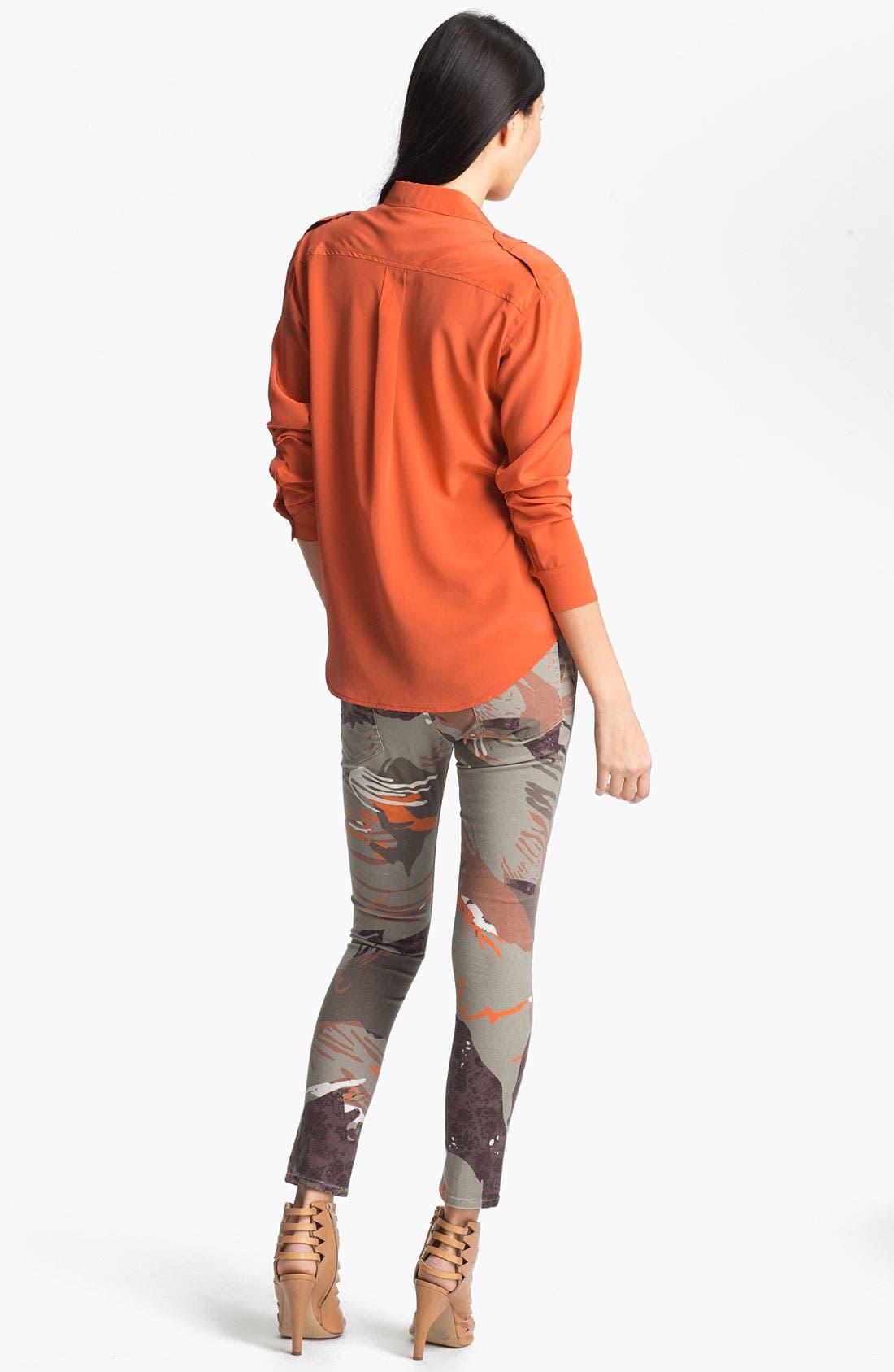 Alternate Image 2  - Edun Sandwashed Silk Shirt