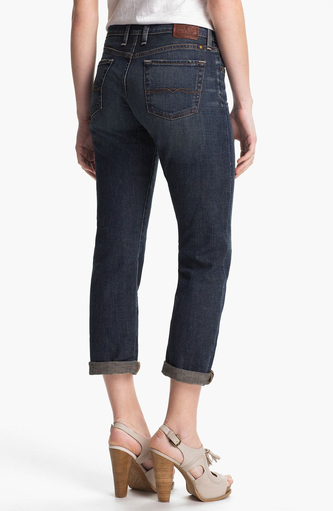 Alternate Image 2  - Lucky Brand 'Sienna' Tomboy Crop Jeans