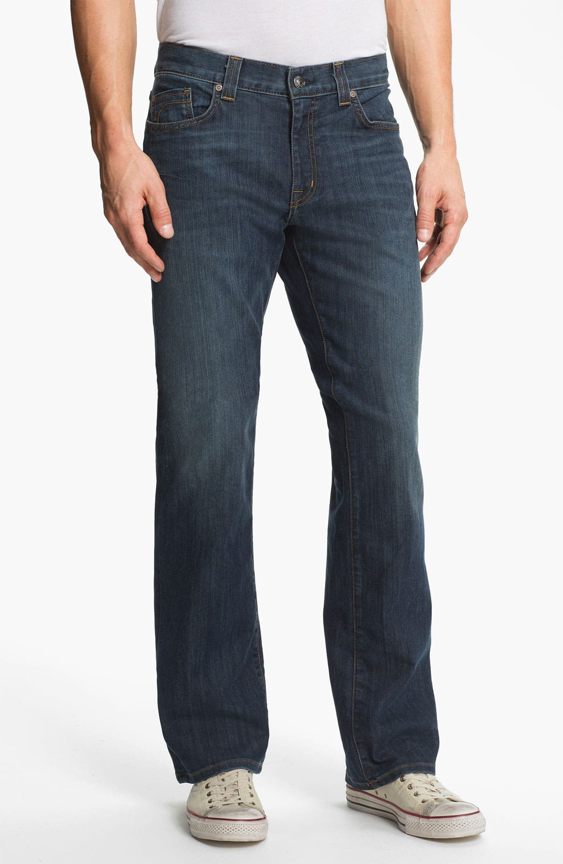 Alternate Image 1 Selected - Fidelity Denim '5011' Straight Leg Jeans (Trigger Medium)