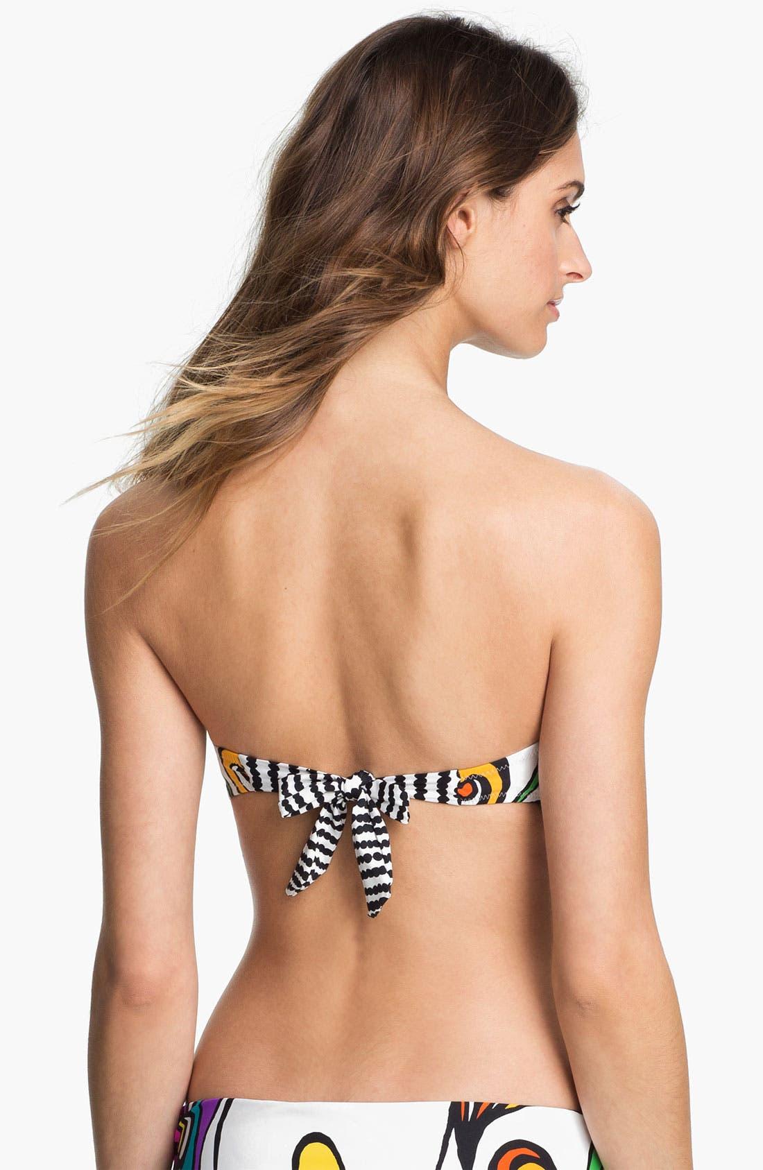 Alternate Image 2  - Trina Turk 'Aquarius' Bandeau Bikini Top
