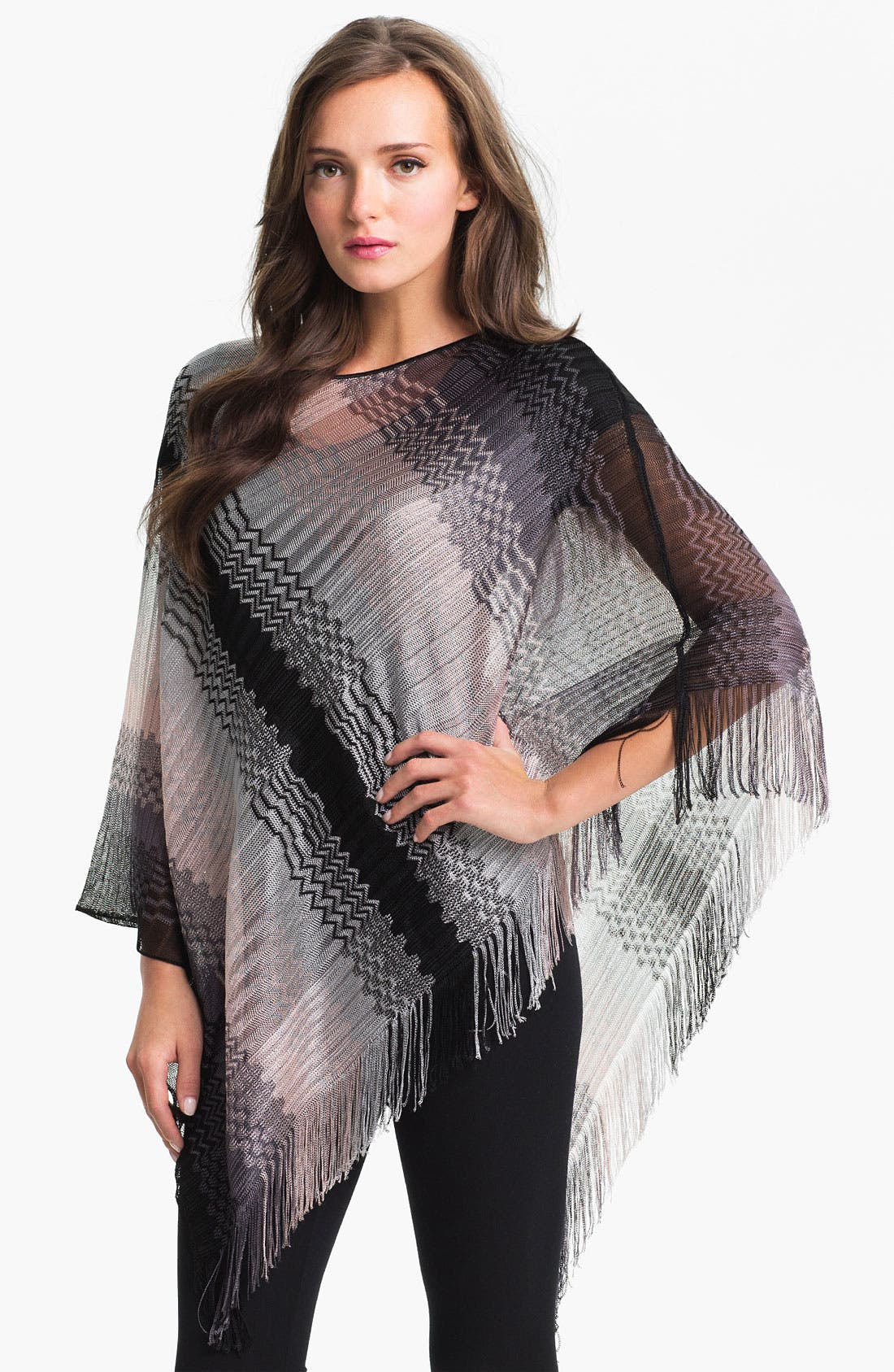 Alternate Image 1 Selected - Missoni Chevron Stripe Poncho